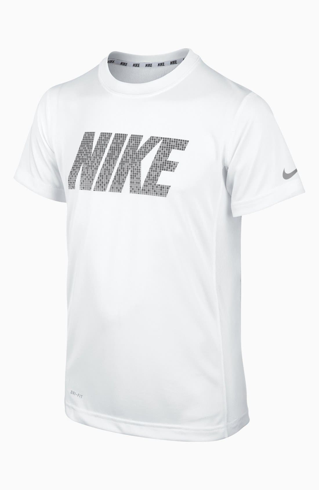 Alternate Image 1 Selected - Nike 'Speed' T-Shirt (Big Boys)