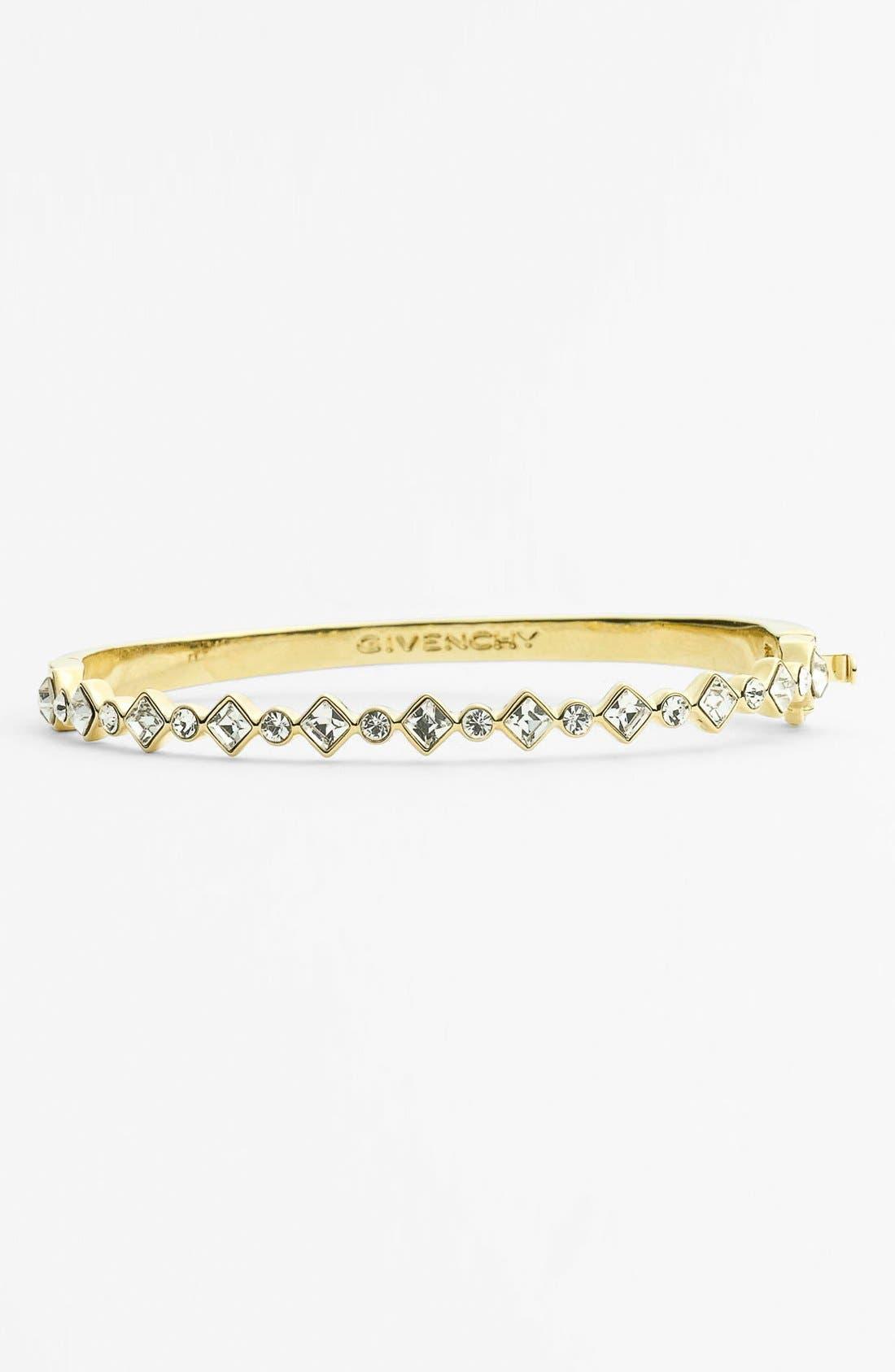 Alternate Image 1 Selected - Givenchy Crystal Hinged Bangle