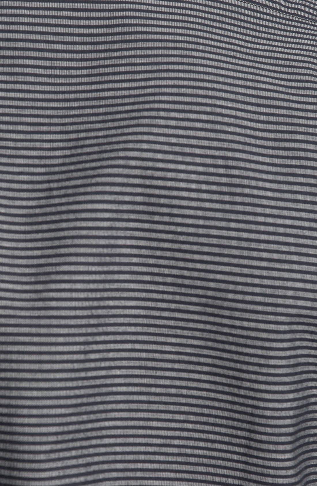 Alternate Image 3  - RVCA 'Dosed' Stripe Woven Shirt