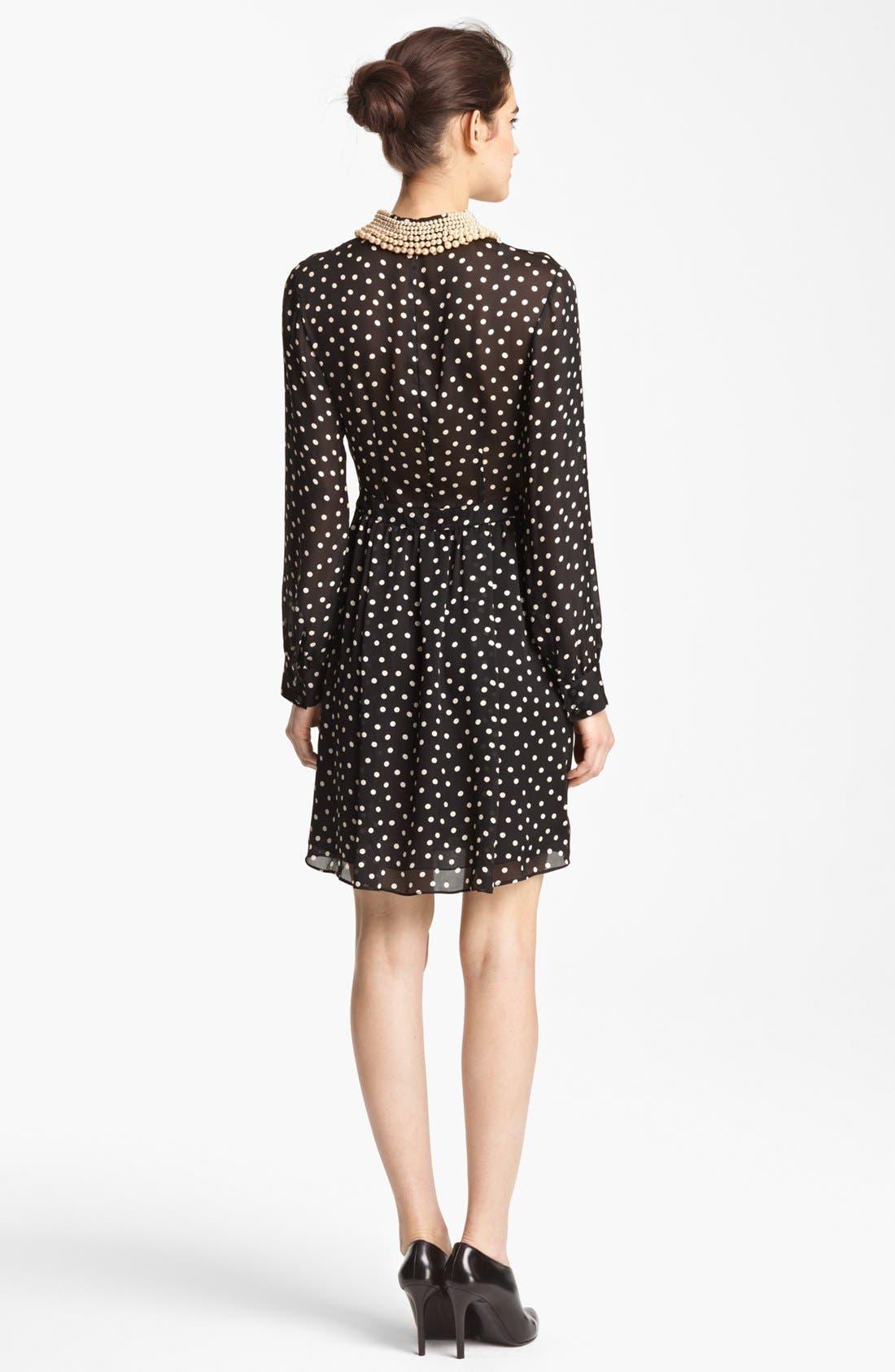 Alternate Image 2  - Moschino Cheap & Chic Silk Charmeuse Dress