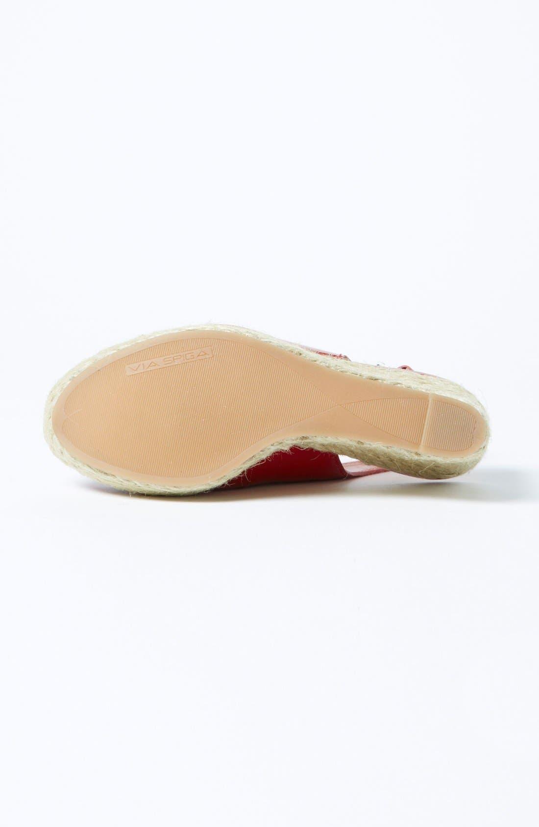 Alternate Image 4  - Via Spiga 'Mahala' Wedge Sandal
