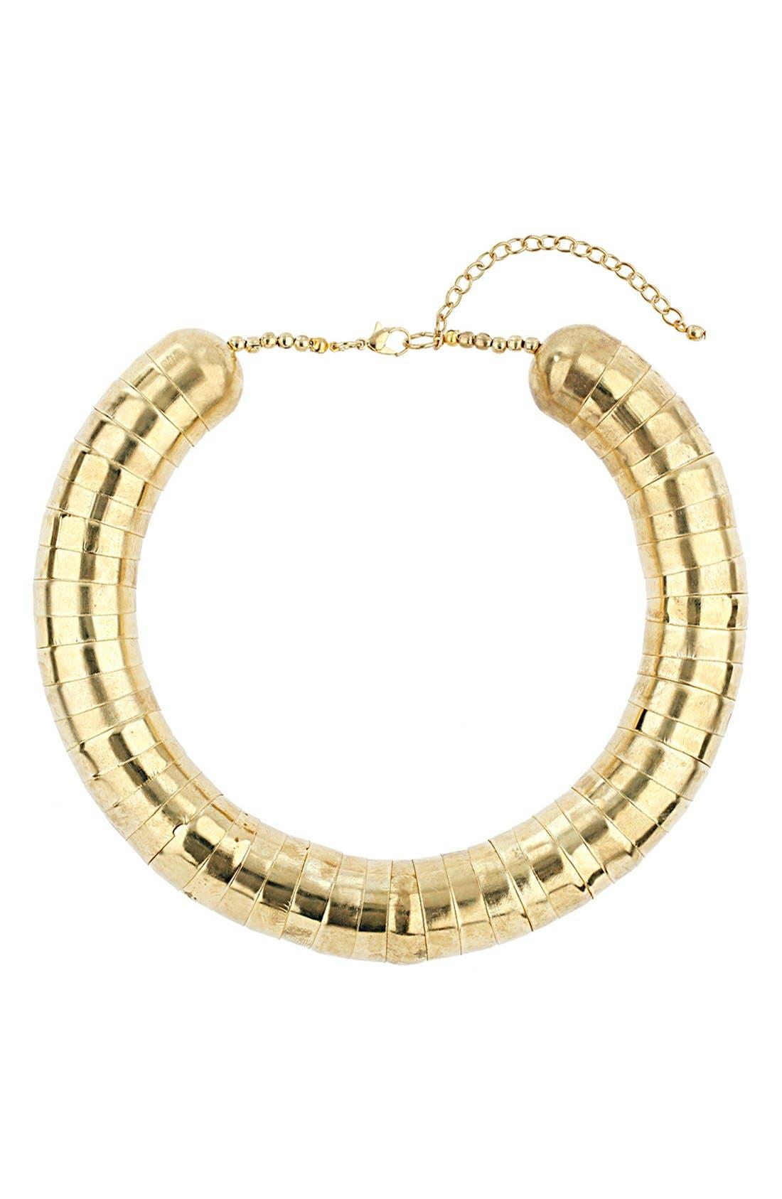 Main Image - Topshop Cap Collar Necklace