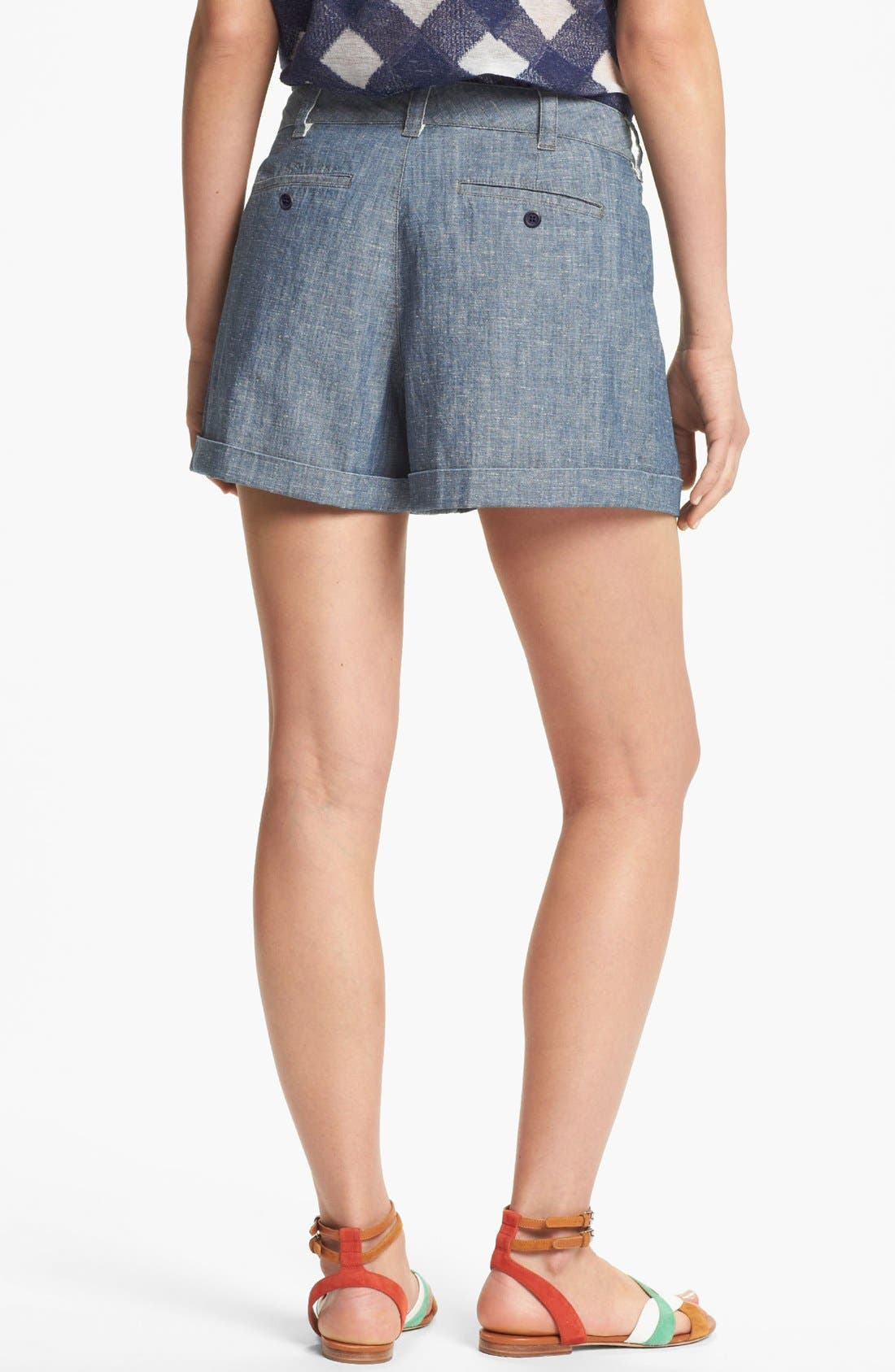 Alternate Image 2  - MARC BY MARC JACOBS 'Corey' Chambray Shorts