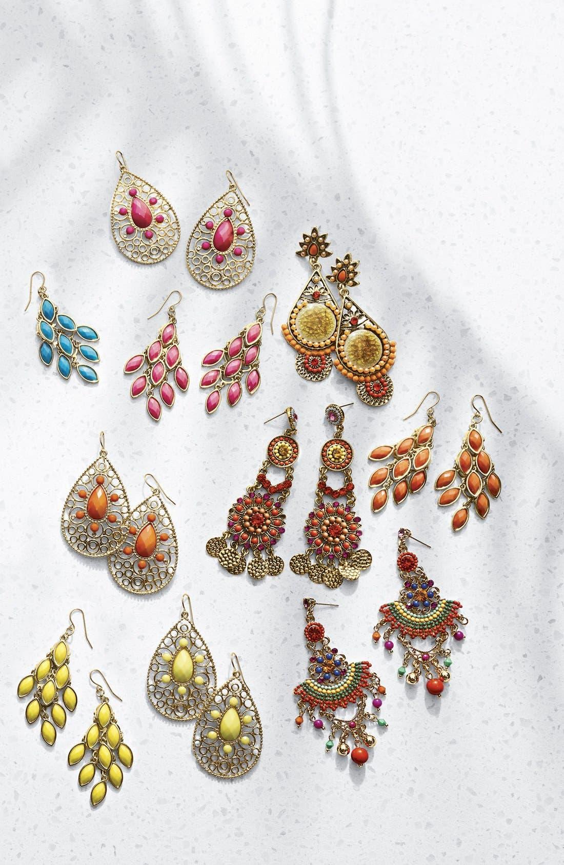 Alternate Image 3  - Tasha Stone Chandelier Earrings