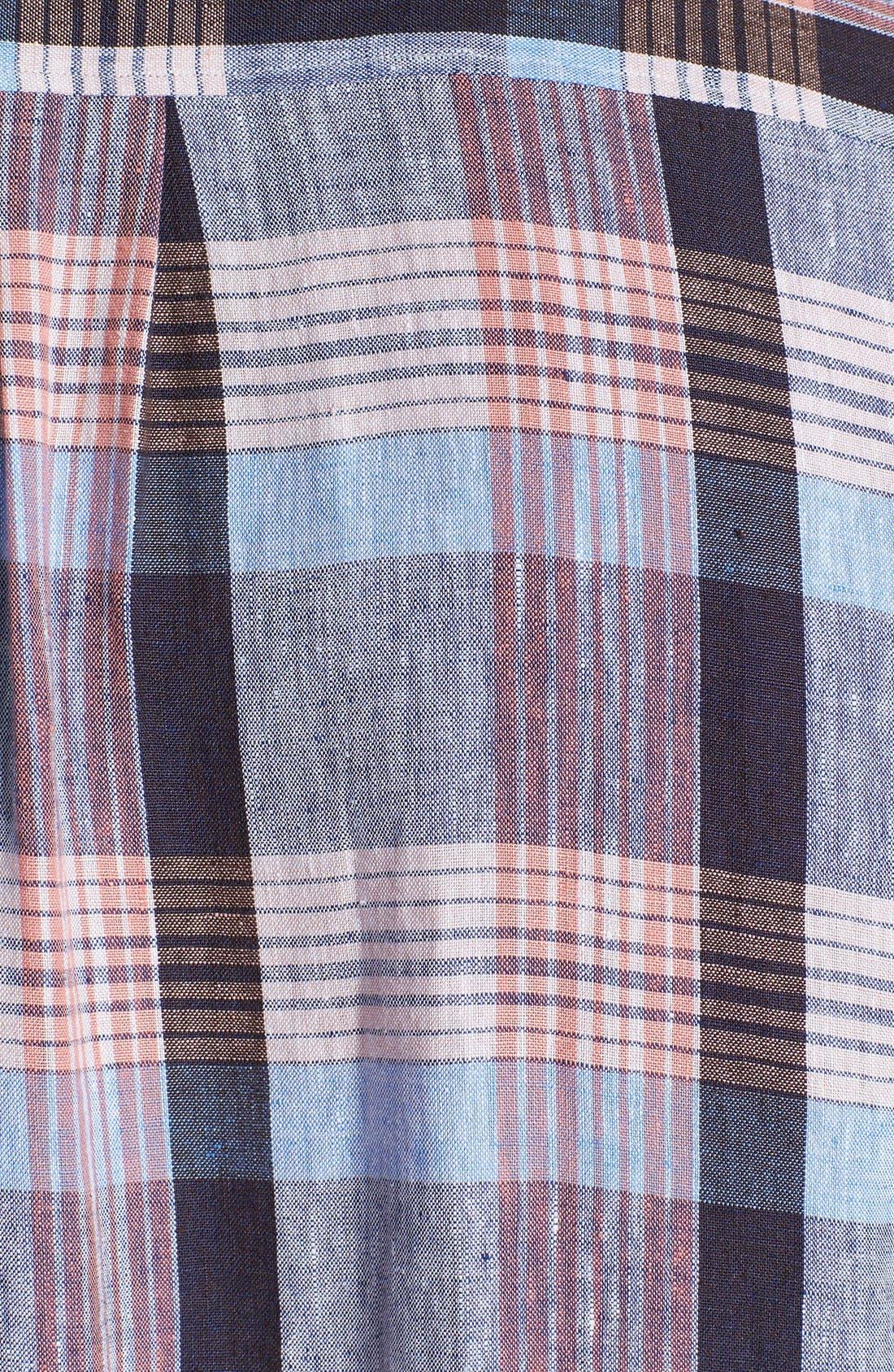 Alternate Image 3  - Tommy Bahama 'Grande' Regular Fit Linen Sport Shirt