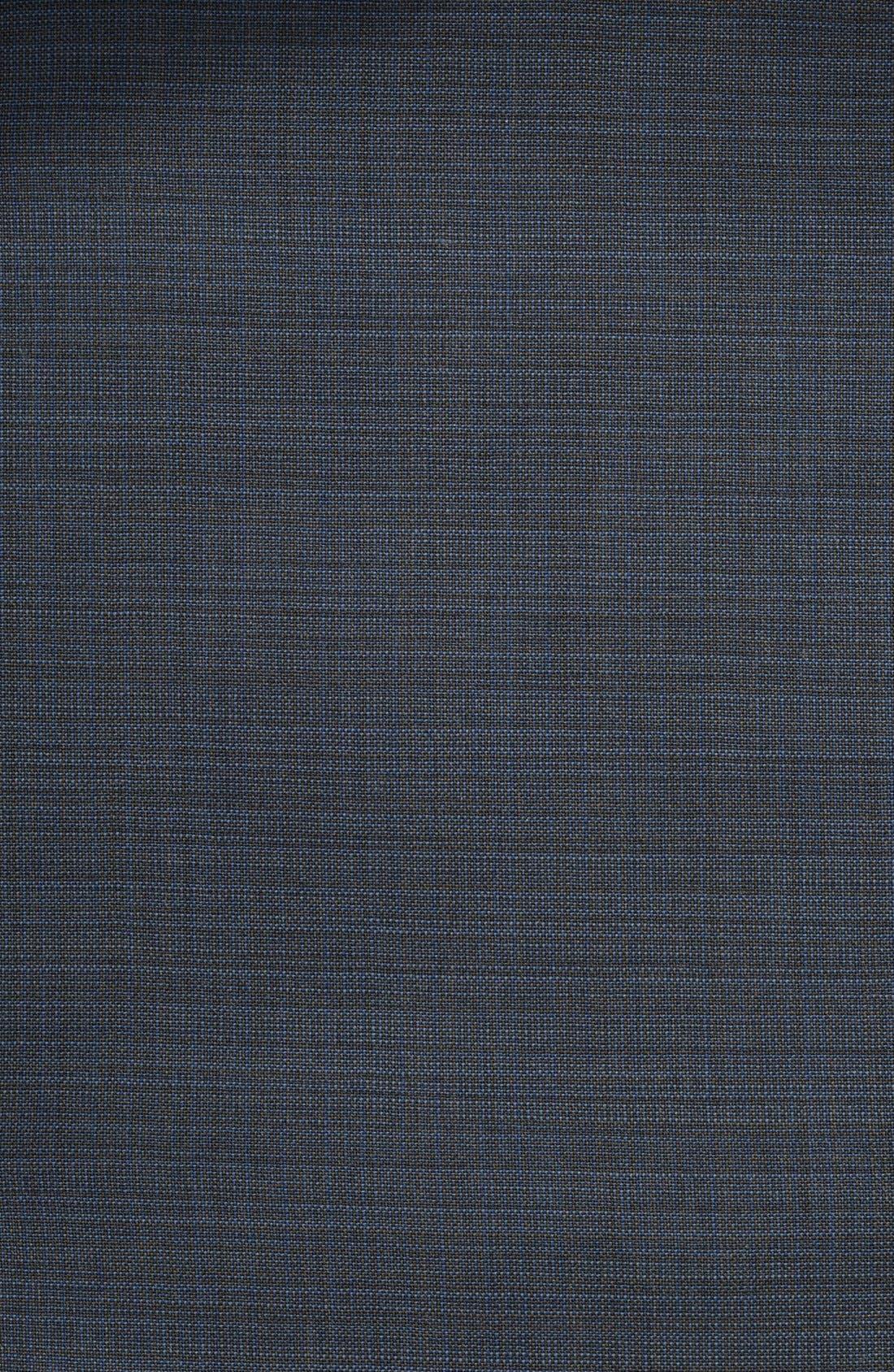Alternate Image 2  - John Varvatos Star USA Check Wool Suit (Big Boys)