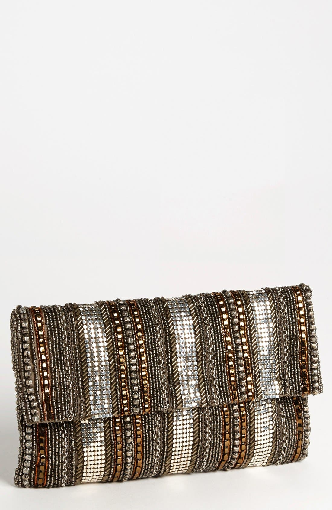 Alternate Image 1 Selected - Moyna 'Tribal' Beaded Clutch