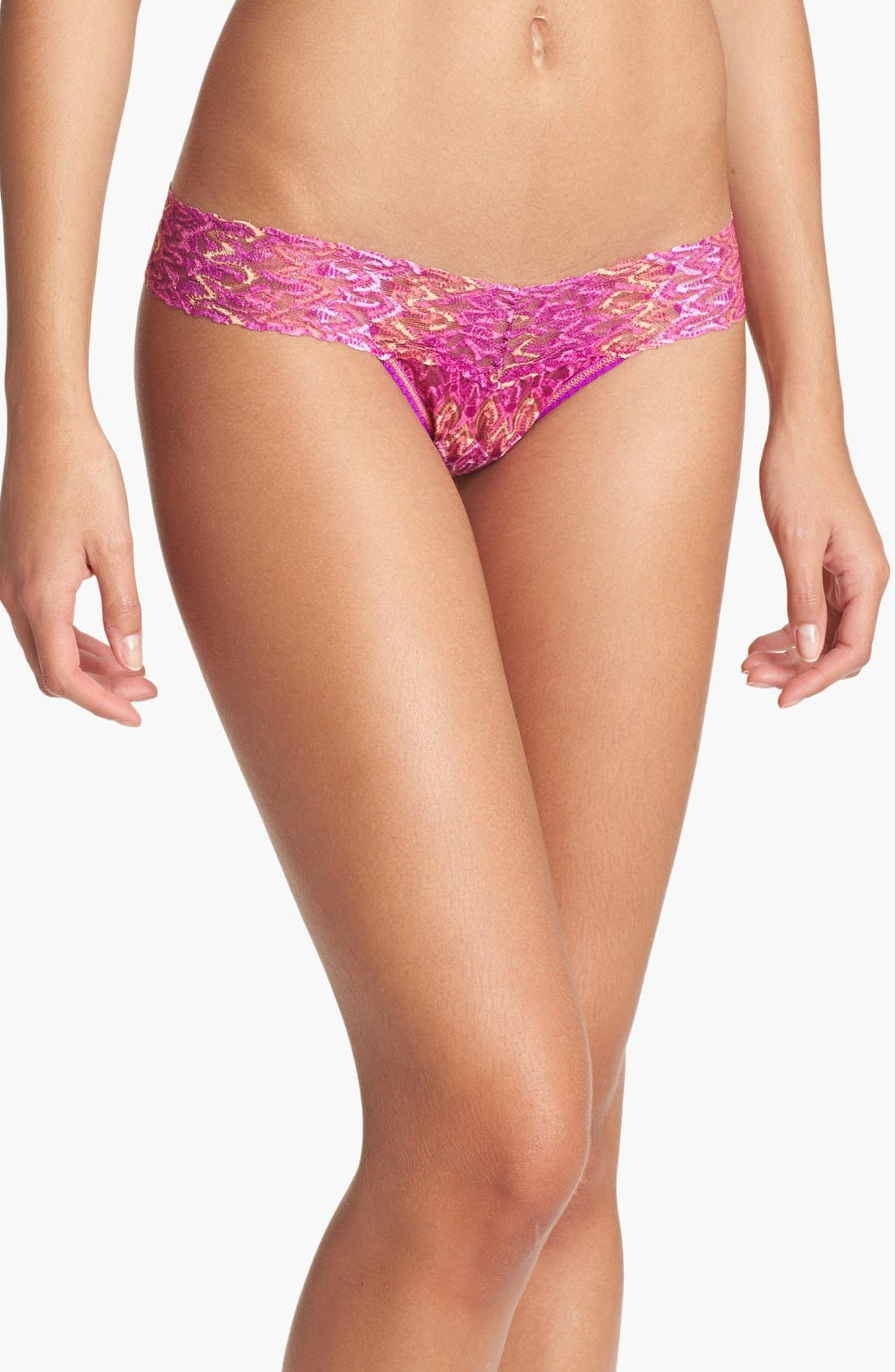 Alternate Image 1 Selected - Hanky Panky 'Flame' Low Rise Thong