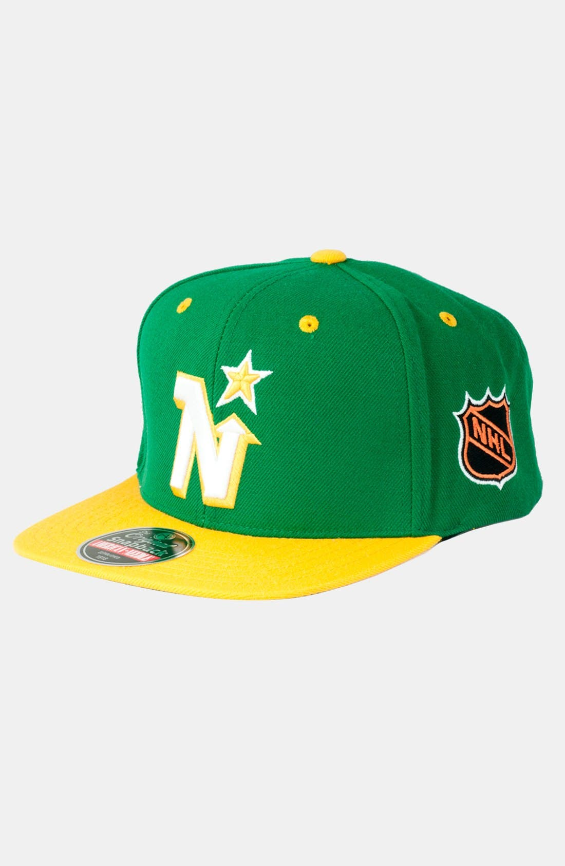 Main Image - American Needle 'Minnesota North Stars - Blockhead' Snapback Hockey Cap