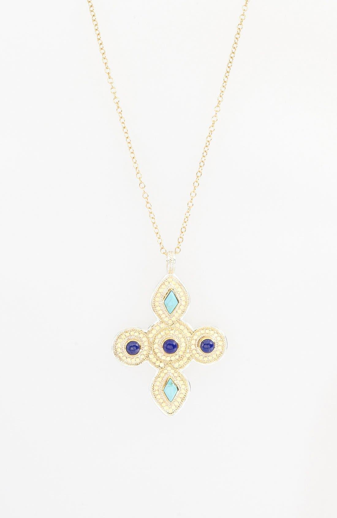 Alternate Image 2  - Anna Beck 'Gili' Maltese Cross Pendant Necklace
