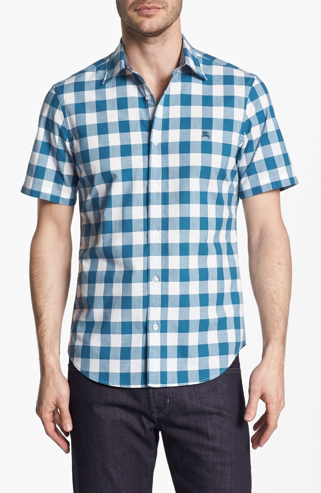 Alternate Image 1 Selected - Burberry Brit 'Henry' Short Sleeve Sport Shirt