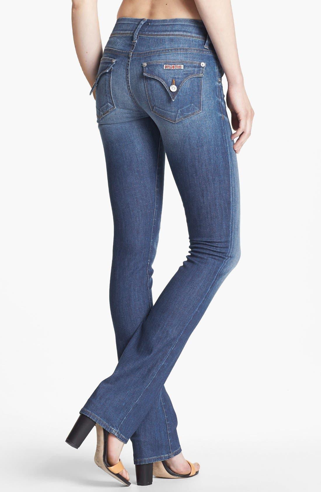 Alternate Image 2  - Hudson Jeans Baby Bootcut Jeans (Morris)