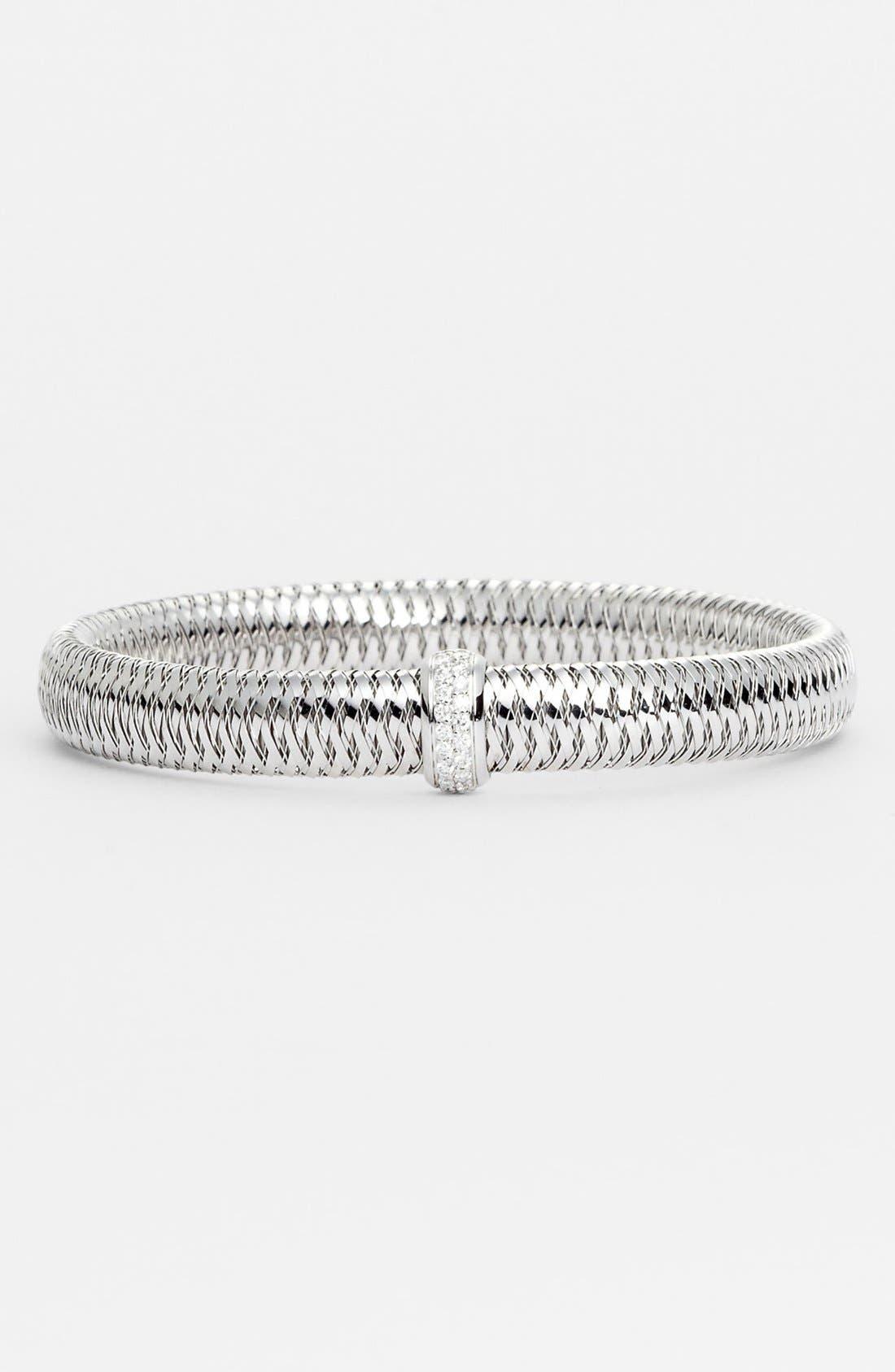 Main Image - Roberto Coin 'Primavera' Medium Diamond Bracelet