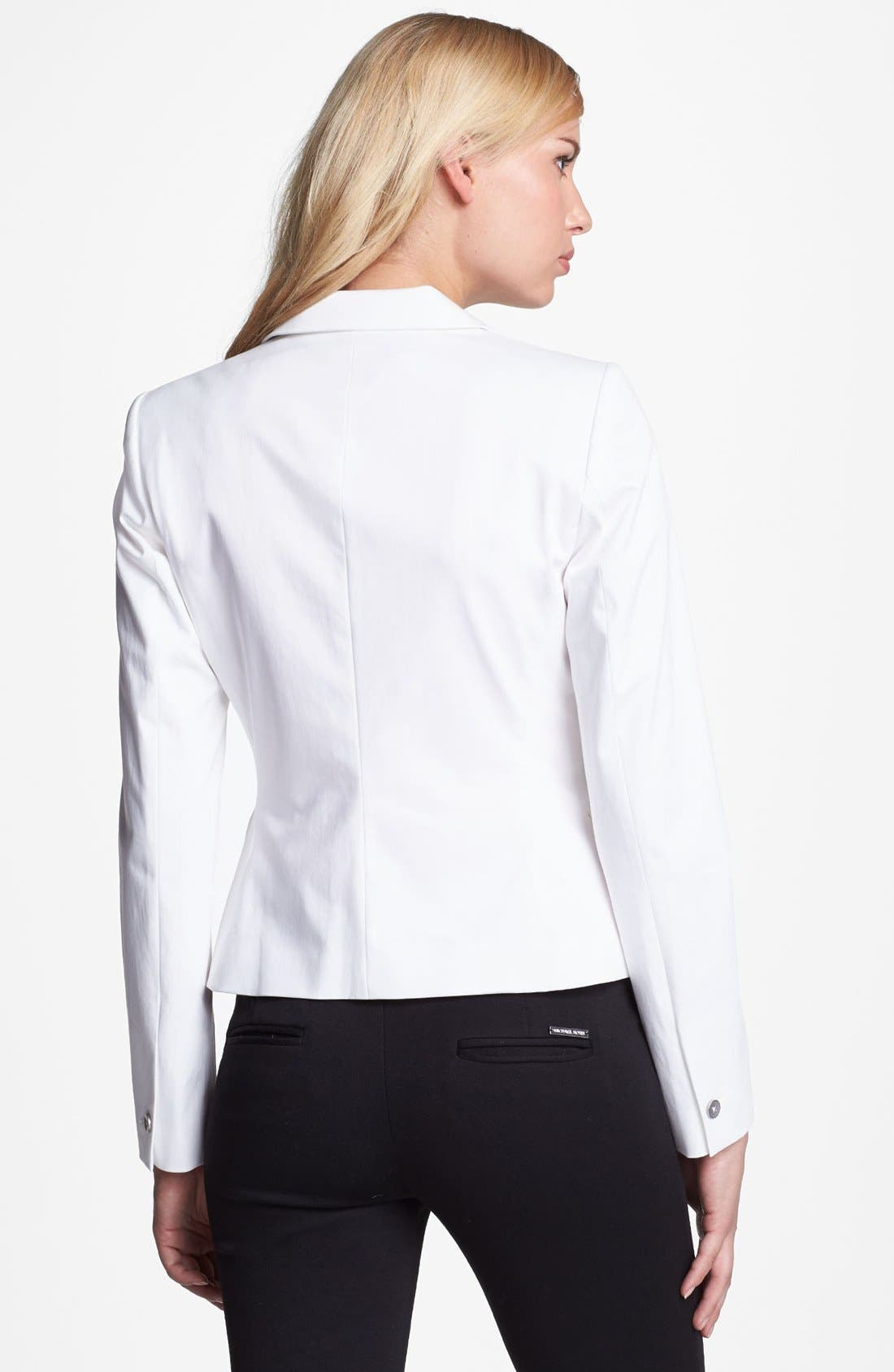 Alternate Image 2  - Elie Tahari 'Rosie' Stretch Cotton Sateen Jacket