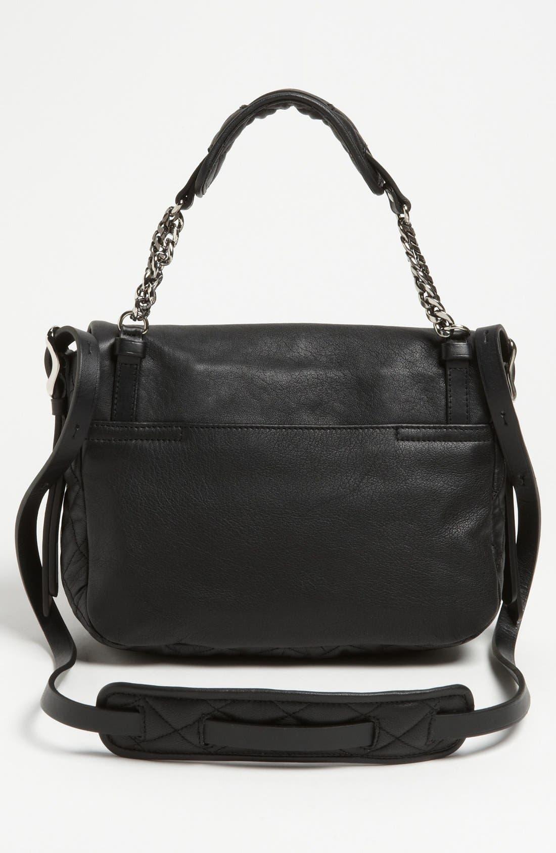 Alternate Image 4  - Jimmy Choo 'Becka Biker - Small' Leather Crossbody Bag