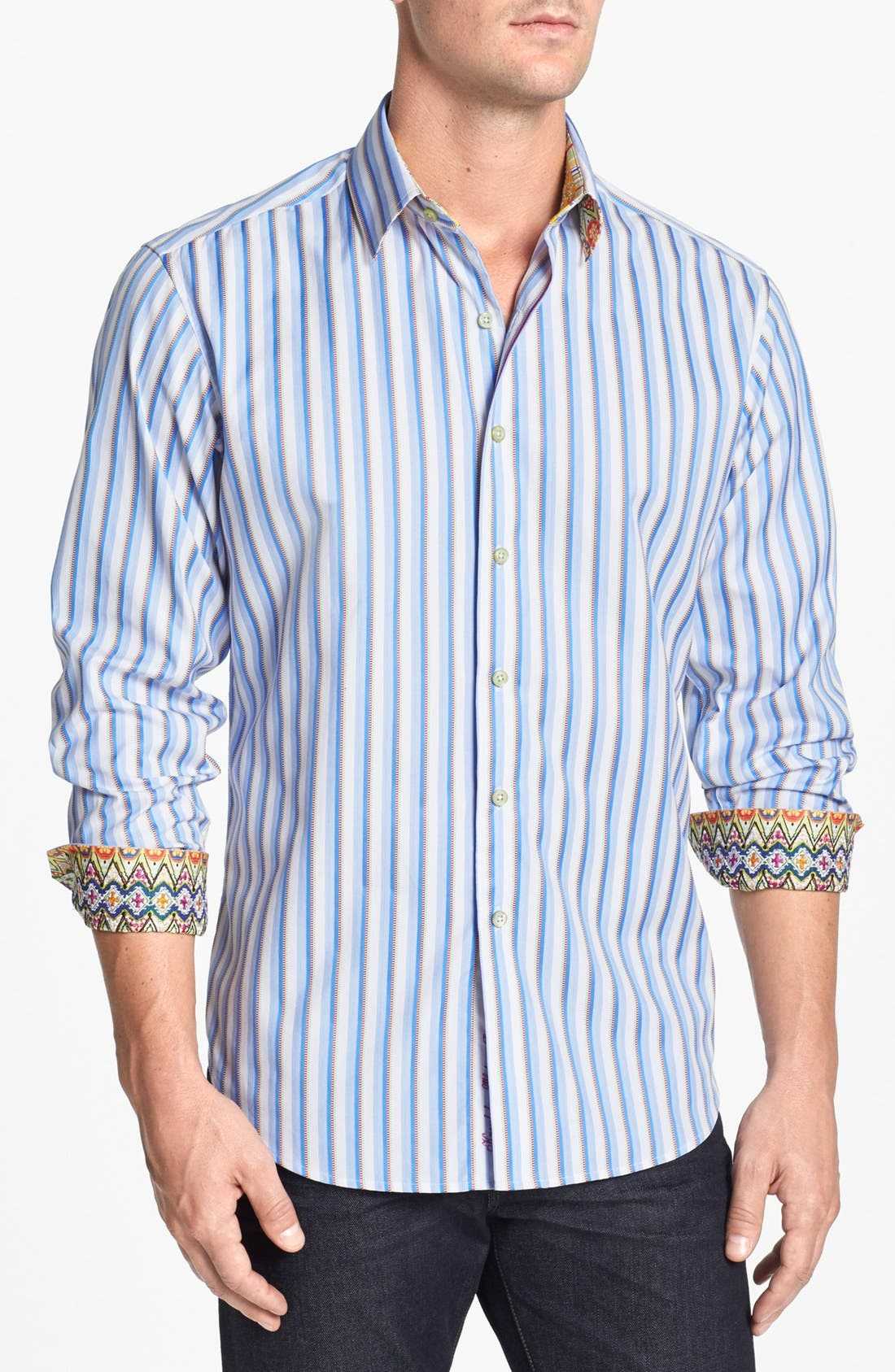 Alternate Image 1 Selected - Robert Graham 'Riprap' Sport Shirt