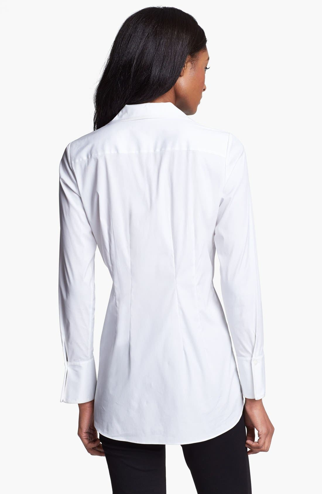 Alternate Image 2  - Lafayette 148 New York 'Excursion Stretch' Tunic