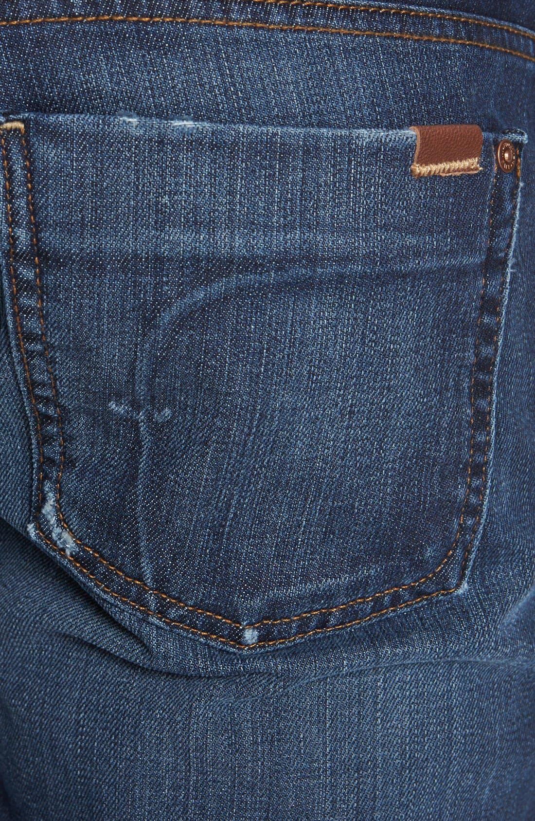 Alternate Image 4  - Fidelity Denim 'Slim Jim' Slim Fit Jeans (Windsor Blue)