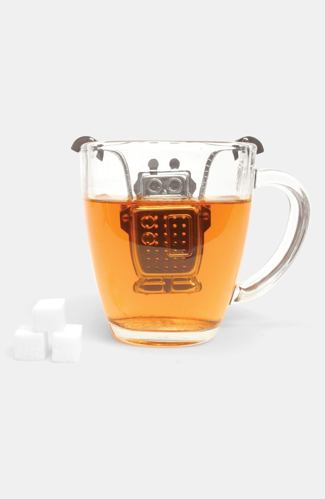 Alternate Image 1 Selected - Kikkerland Design Robot Tea Infuser