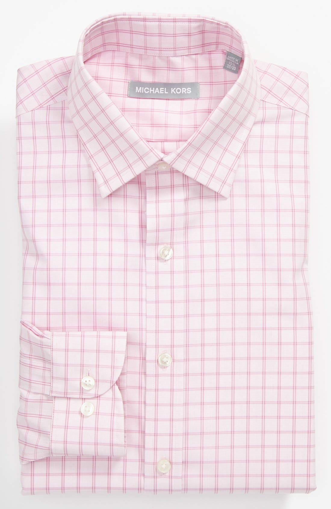 Alternate Image 1 Selected - Michael Kors Regular Fit Non-Iron Dress Shirt