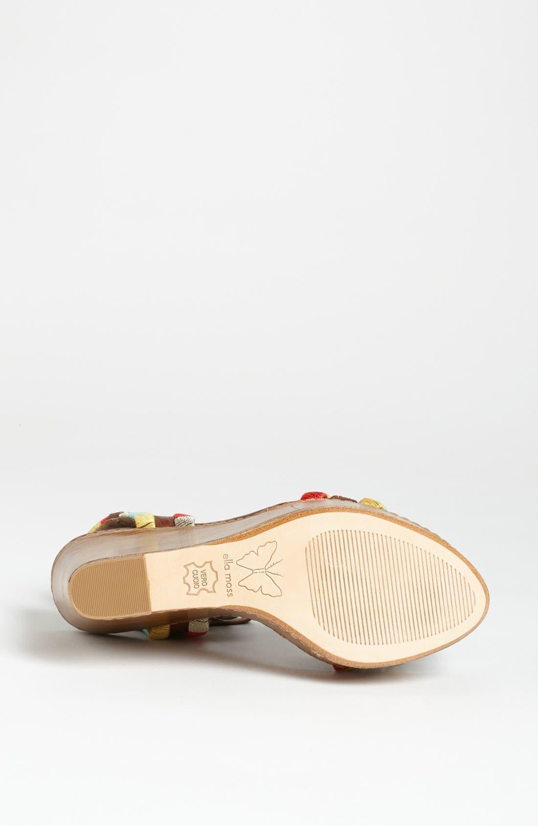 Alternate Image 4  - Ella Moss 'Ryann' Sandal