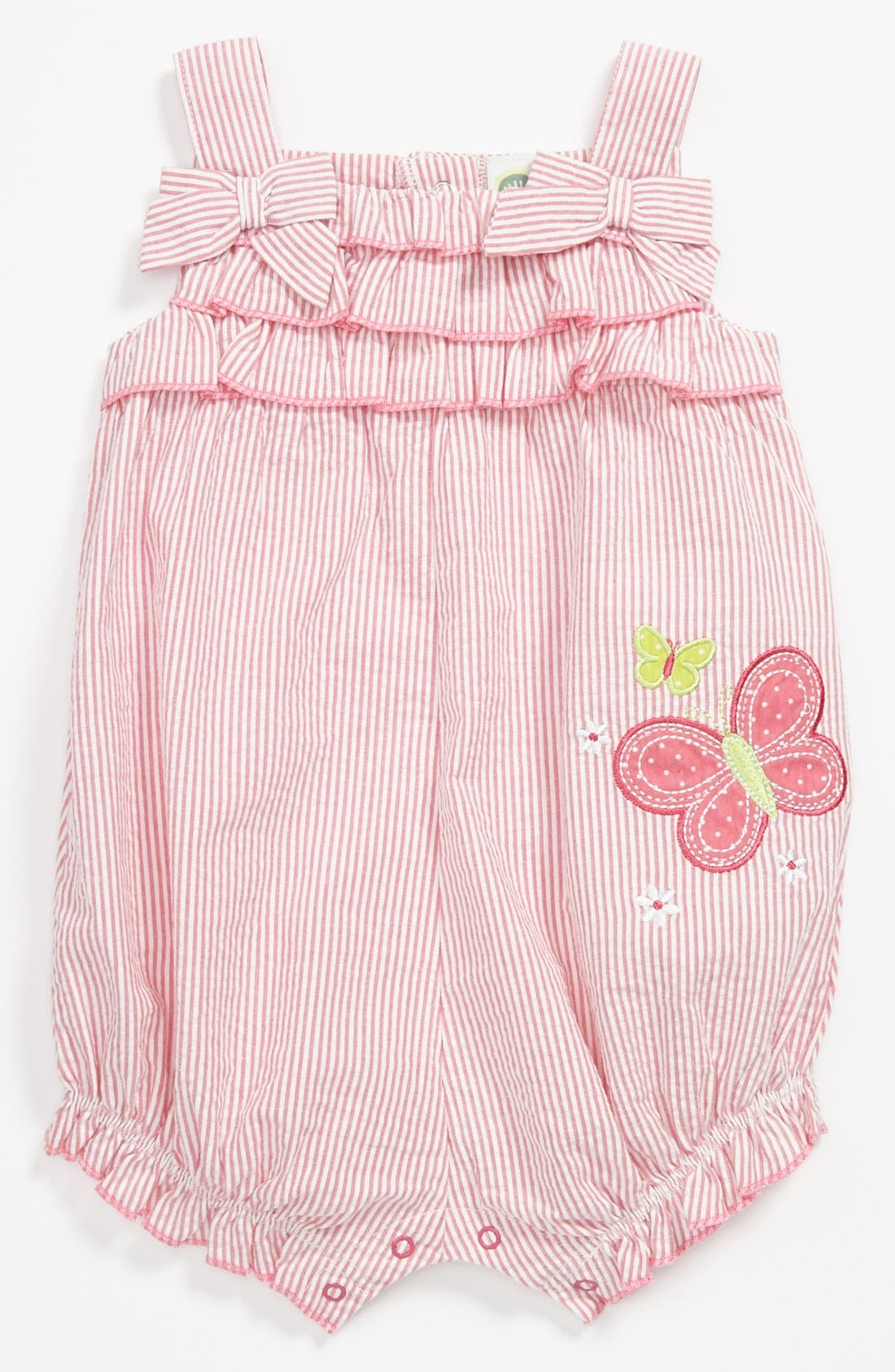 Alternate Image 1 Selected - Little Me Coveralls (Baby Girls)