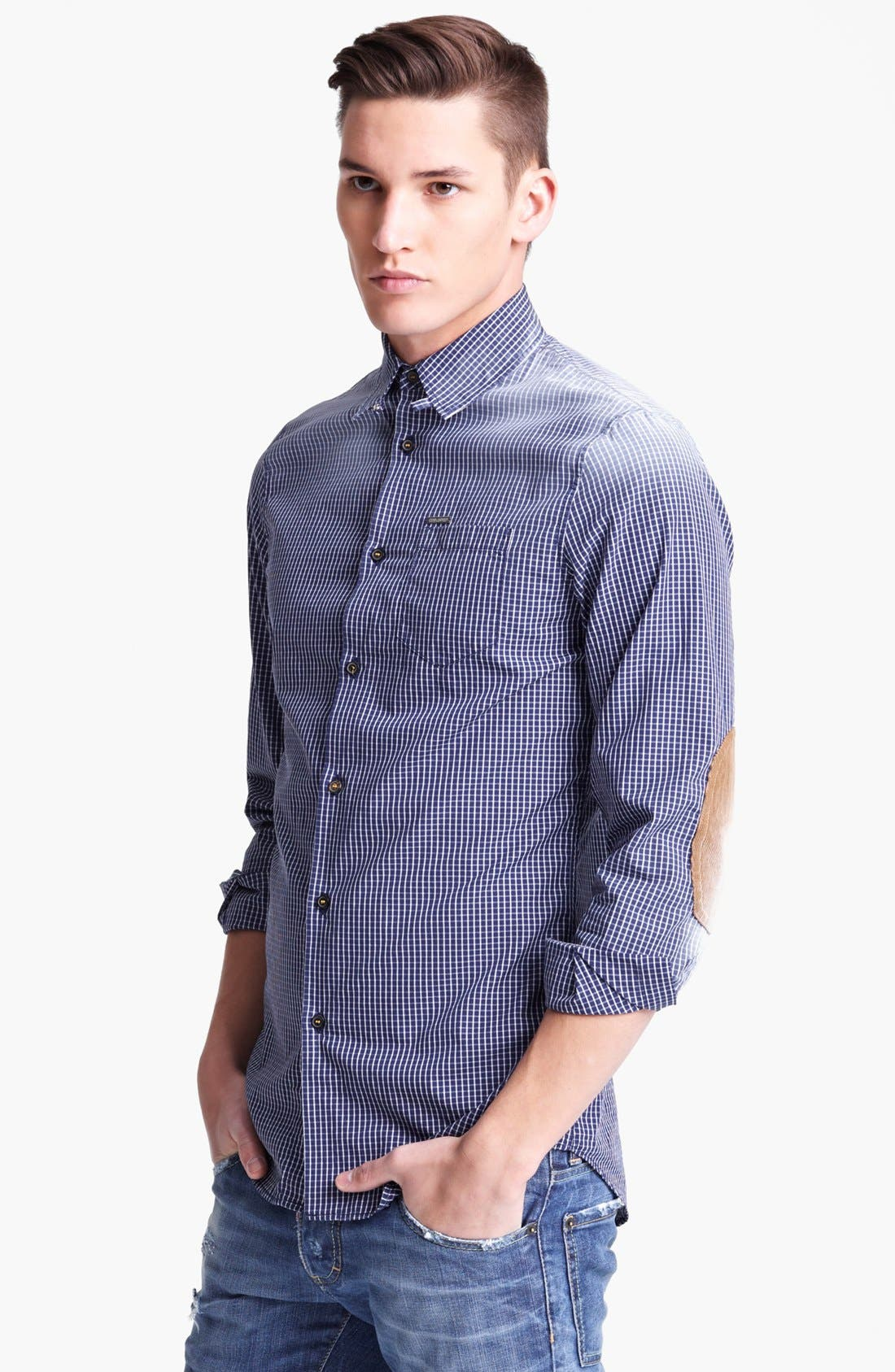 Alternate Image 1 Selected - Dsquared2 Check Shirt