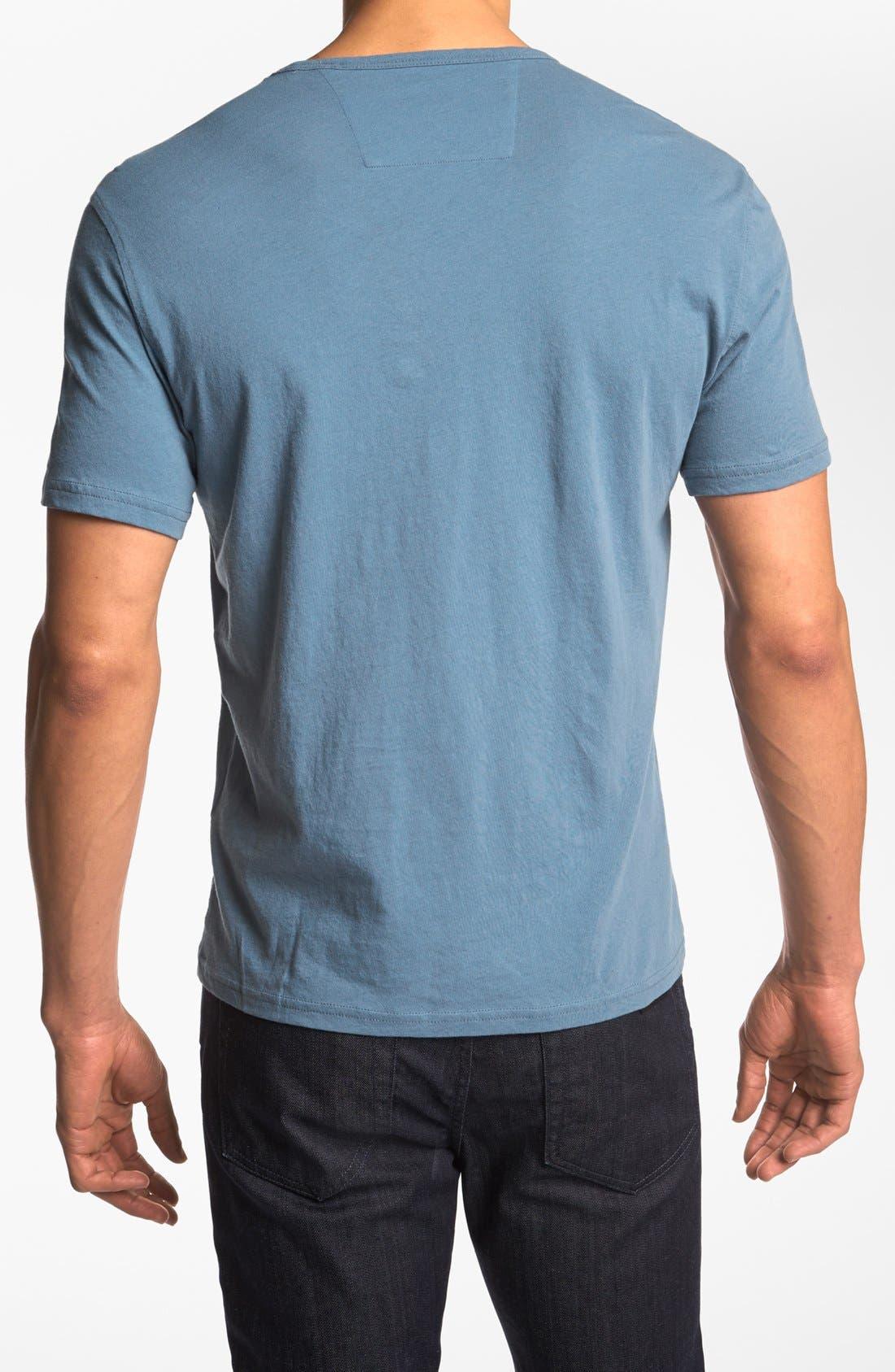 Alternate Image 2  - John Varvatos Star USA 'Painted Peace Sign' T-Shirt