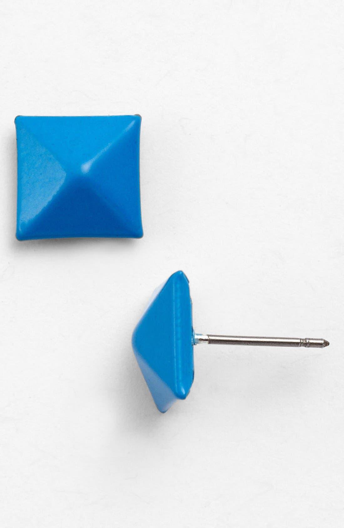 Main Image - Tasha Pyramid Stud Earrings