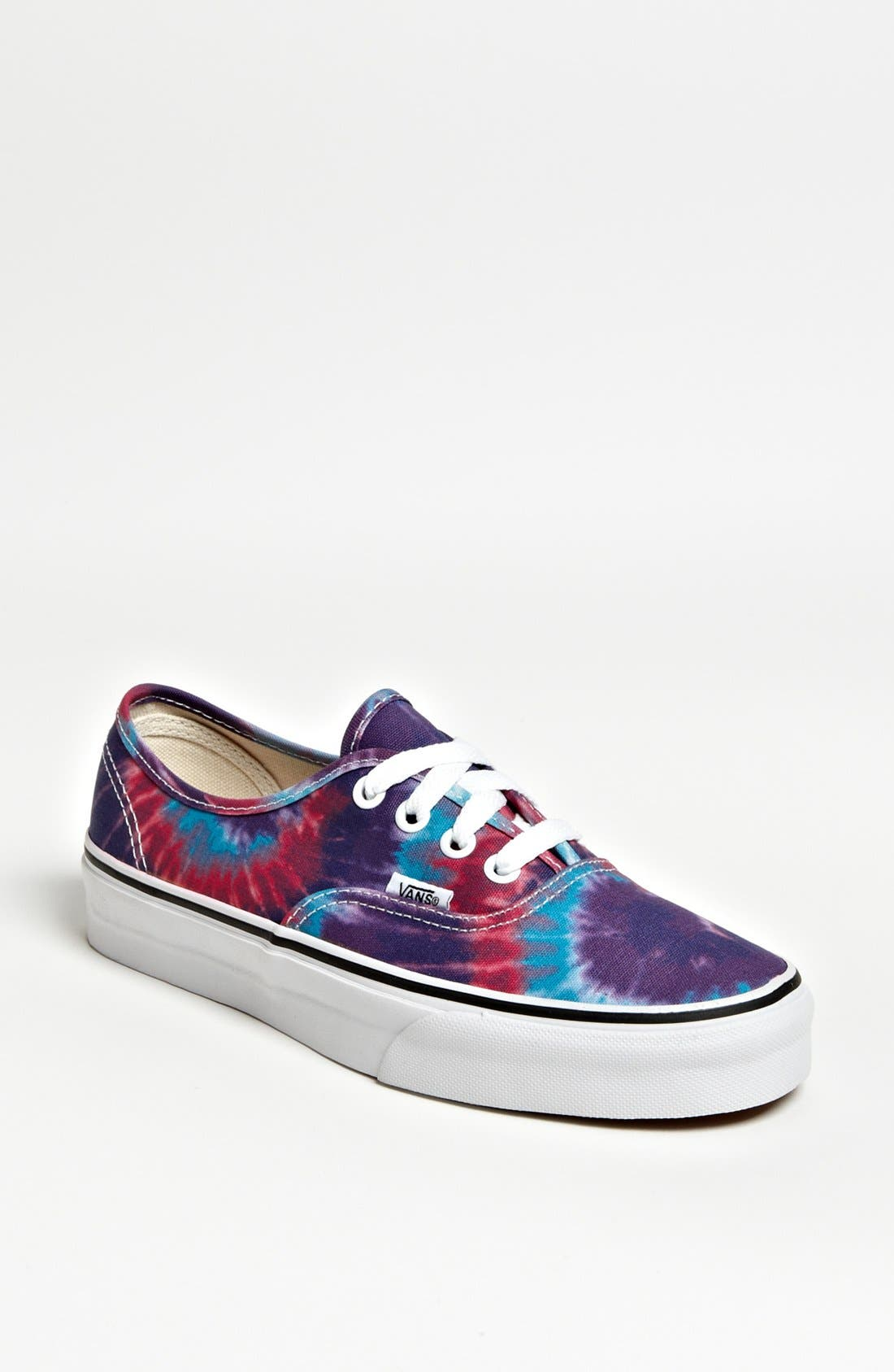 Main Image - Vans 'Authentic - Tie Dye' Sneaker (Women)