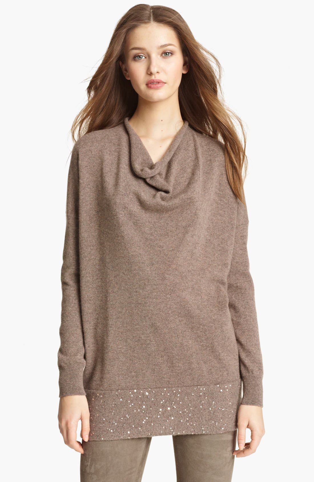 Main Image - Fabiana Filippi Cashmere Cowl Neck Sweater