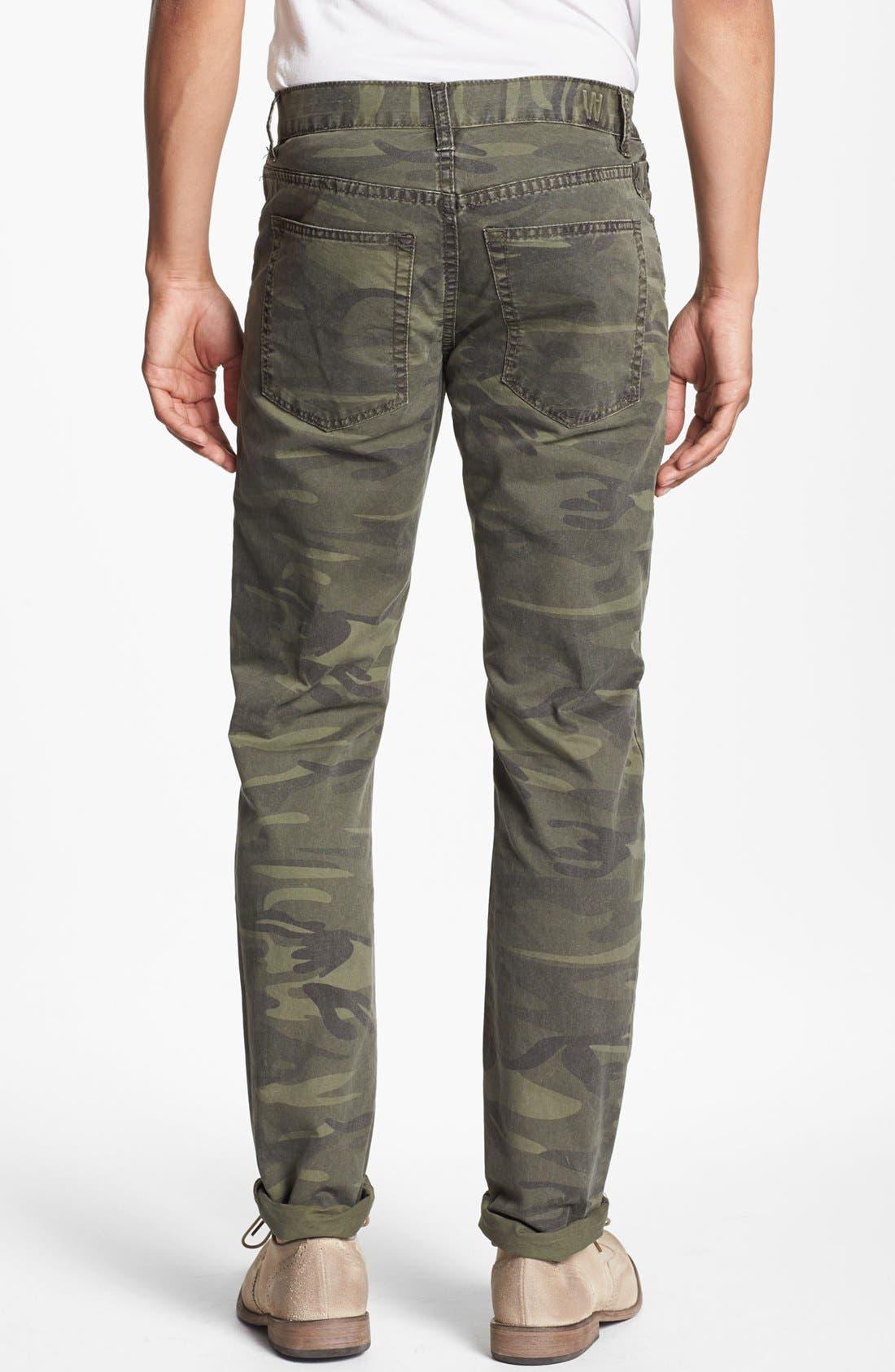 Alternate Image 2  - Williamsburg Garment Company 'Grand Street' Slim Fit Pants