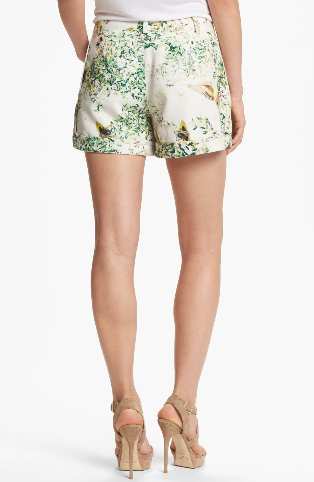 Alternate Image 2  - Ted Baker London 'Anora - Dancing Leaves' Print Shorts
