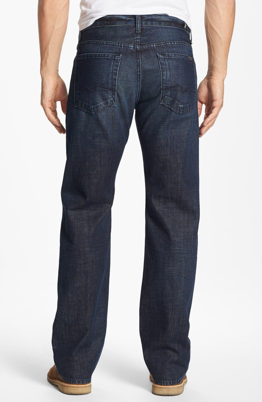 Alternate Image 1  - 7 For All Mankind® 'Austyn' Straight Leg Jeans (Porter Mist)