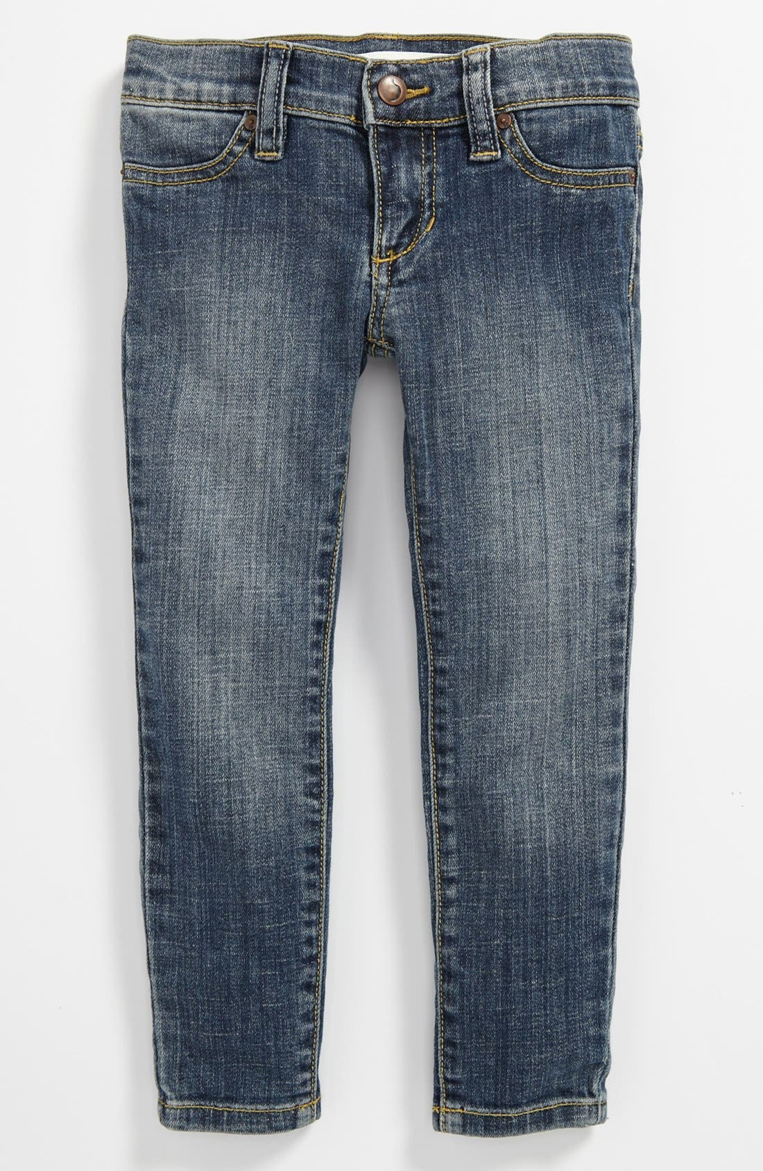Alternate Image 2  - Joe's 'Lilly' Denim Jeggings (Toddler)