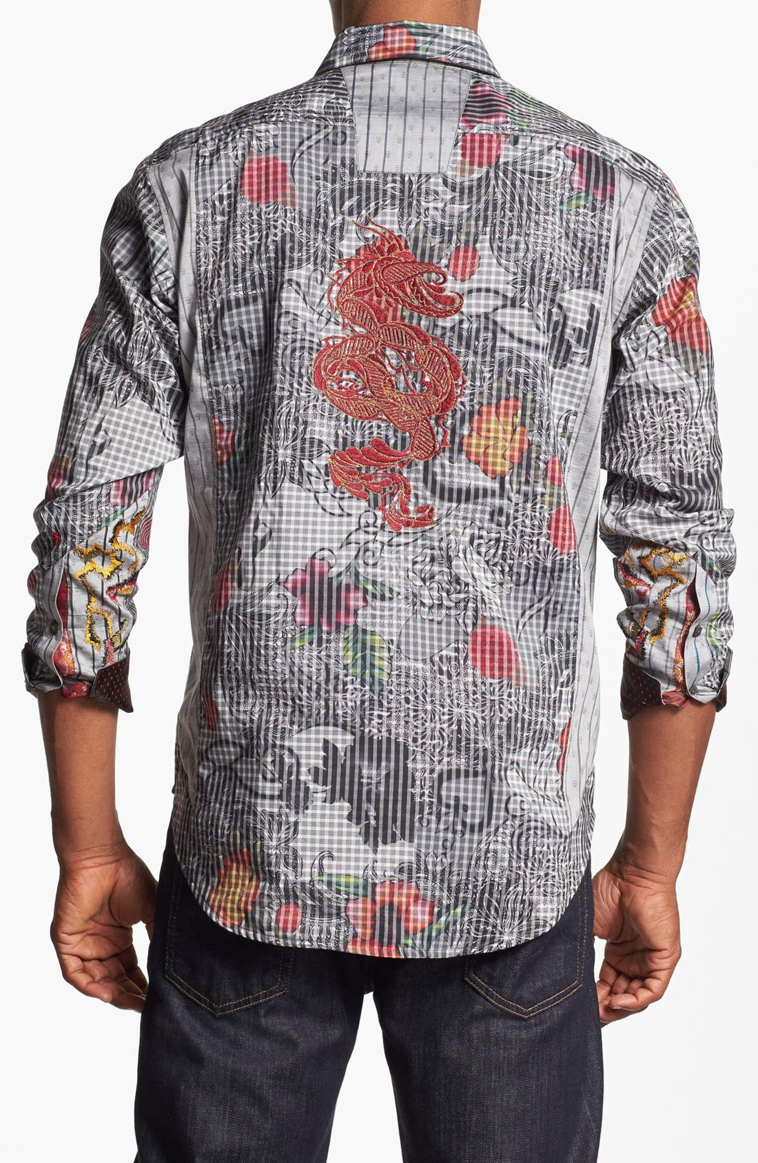 Alternate Image 3  - Robert Graham 'Tequila' Regular Fit Sport Shirt