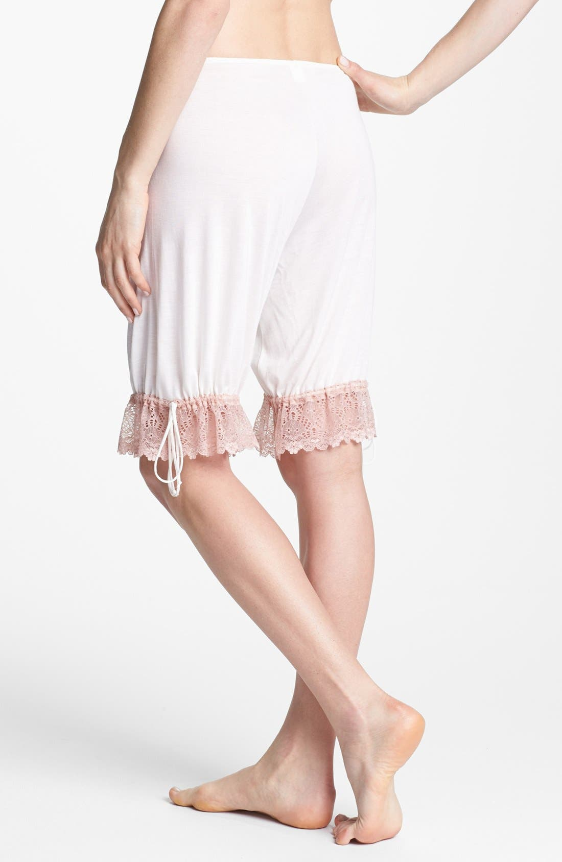 Alternate Image 2  - Only Hearts 'Venice' Lace Trim Shorts
