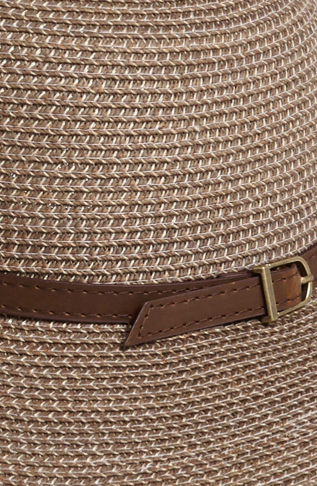 Alternate Image 2  - Nordstrom Stone Wash Sun Hat