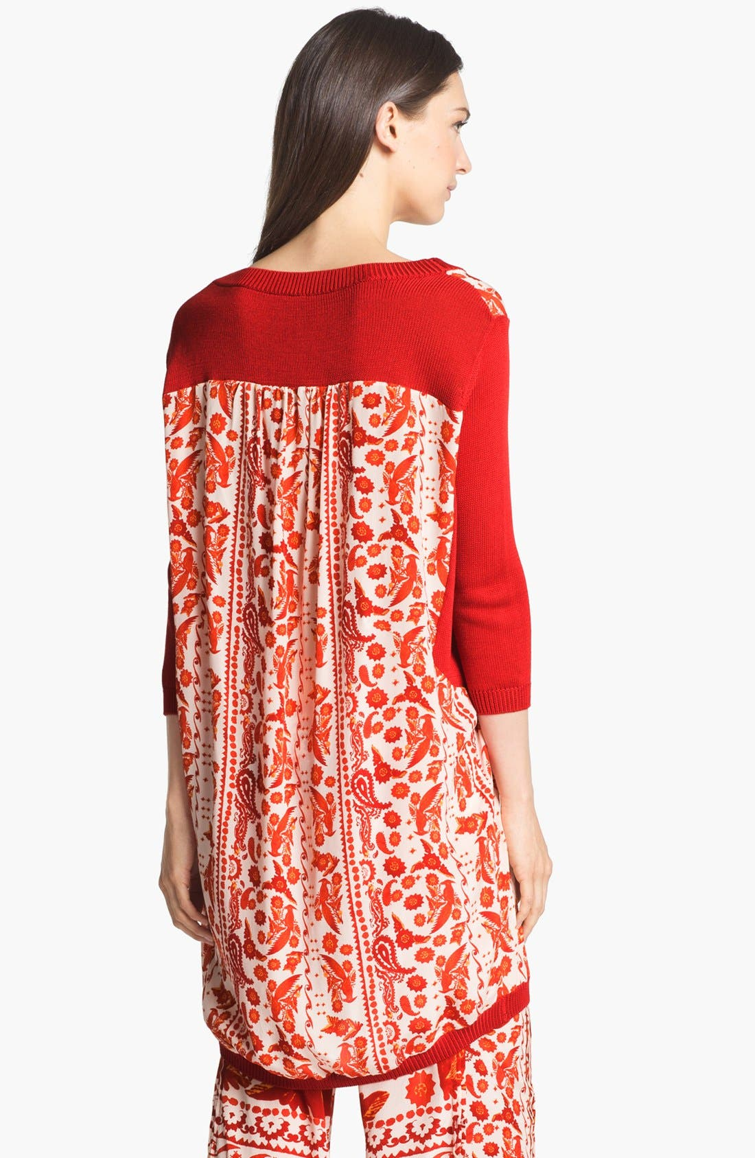 Alternate Image 3  - Rebecca Minkoff 'Jai' Mixed Media Tunic Dress