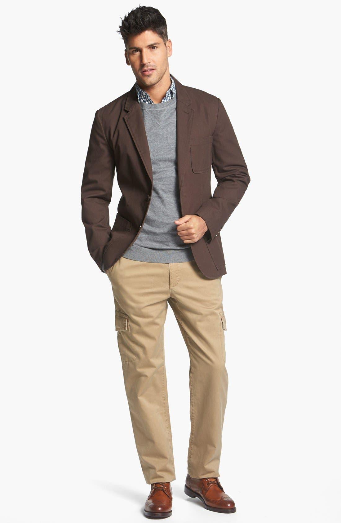 Alternate Image 4  - Wallin & Bros. Trim Fit Dobby Sportcoat