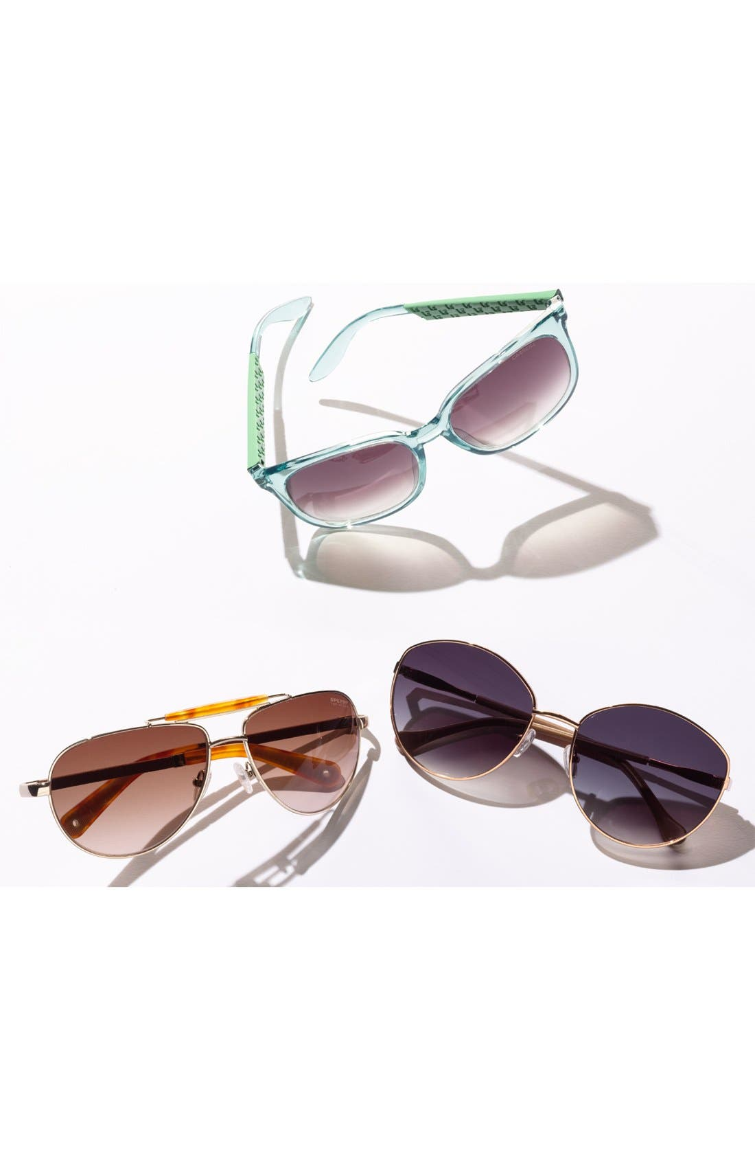 Alternate Image 2  - Sperry Top-Sider® 'Vineyard Haven' 60mm Aviator Sunglasses (Online Only)