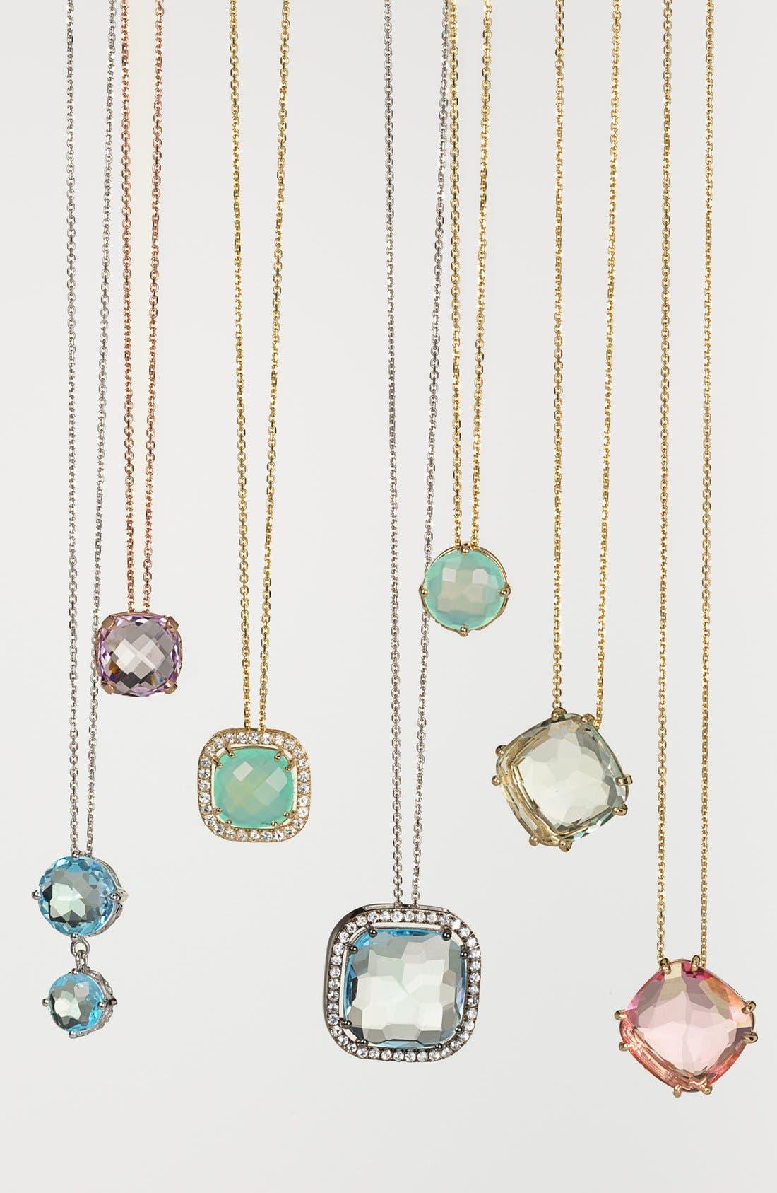 Alternate Image 2  - KALAN by Suzanne Kalan Sapphire Bezel Pendant Necklace