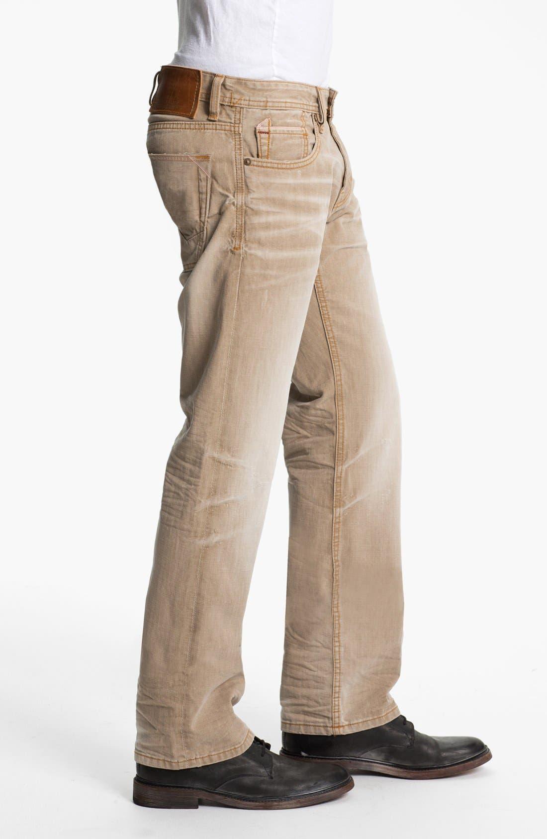 Alternate Image 3  - Cult of Individuality 'Rebel' Straight Leg Jeans (Desert)