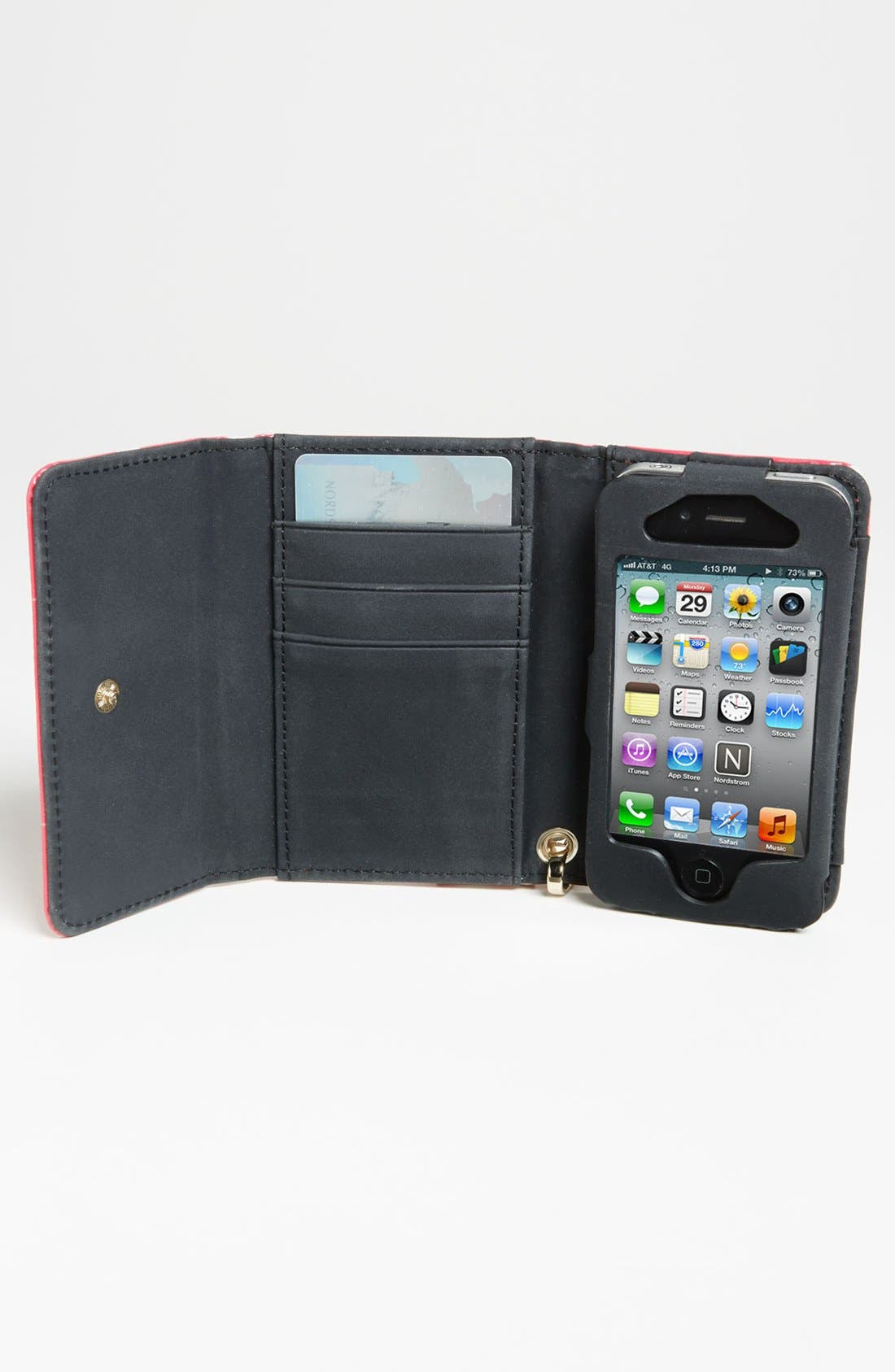 Alternate Image 2  - kate spade new york 'deborah dot' iPhone 5 & 5S wristlet