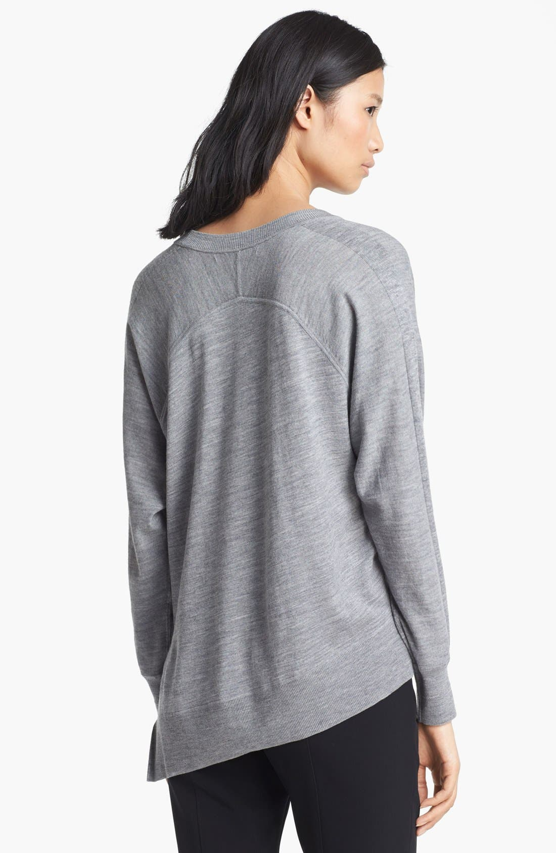 Alternate Image 2  - Alexander Wang Asymmetrical Pullover