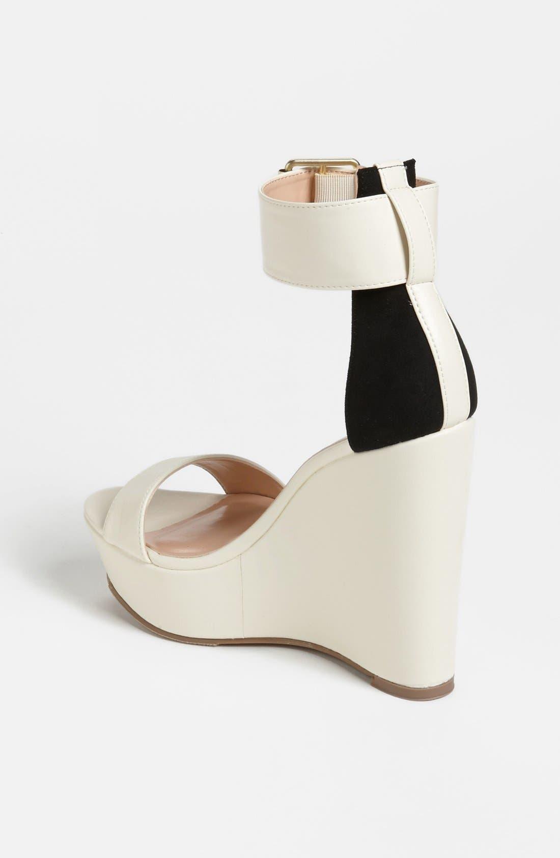 Alternate Image 2  - Julianne Hough for Sole Society 'Tate' Wedge Sandal
