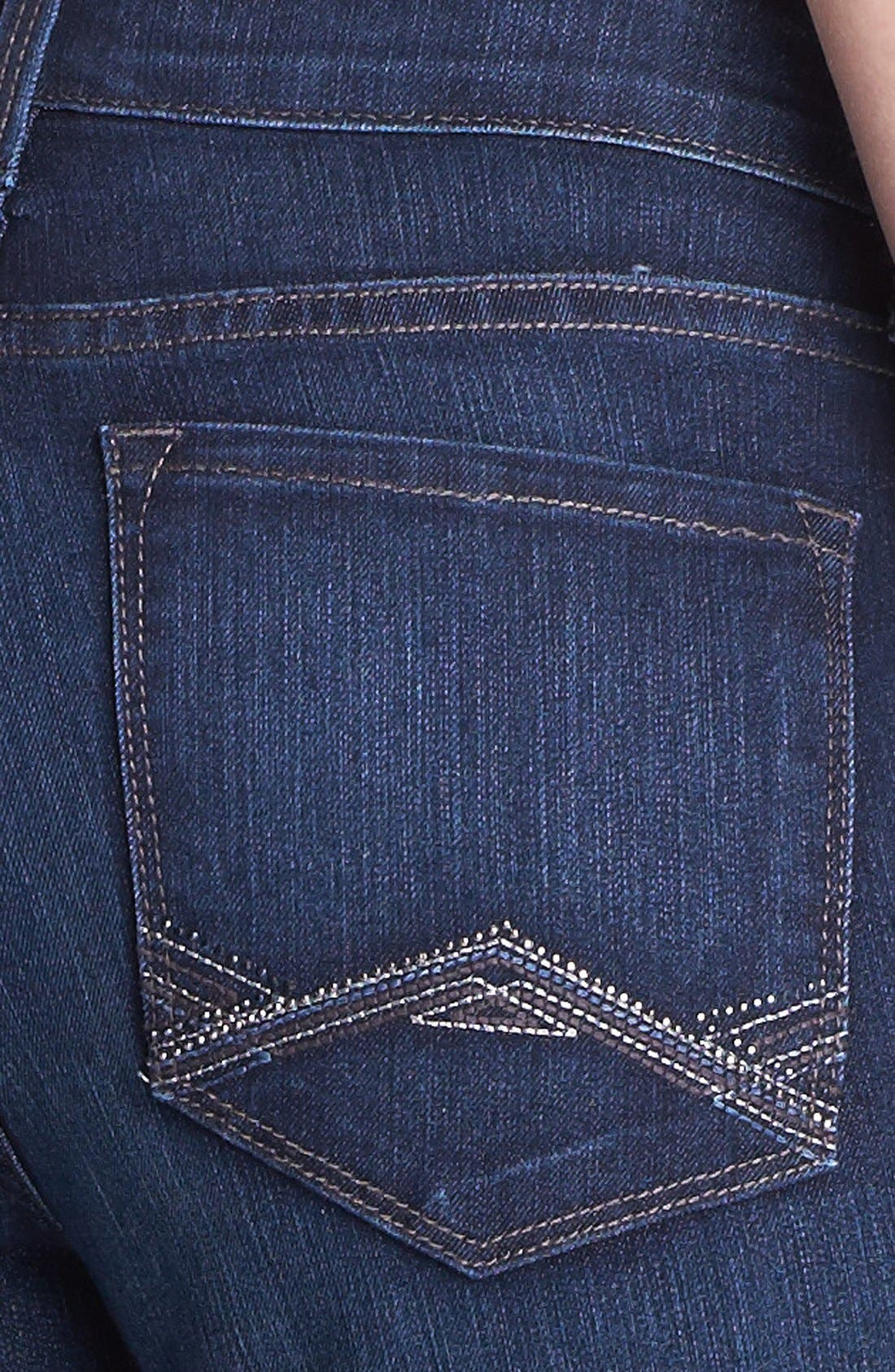 Alternate Image 3  - NYDJ 'Barbara' Embellished Stretch Bootcut Jeans (Online Only)