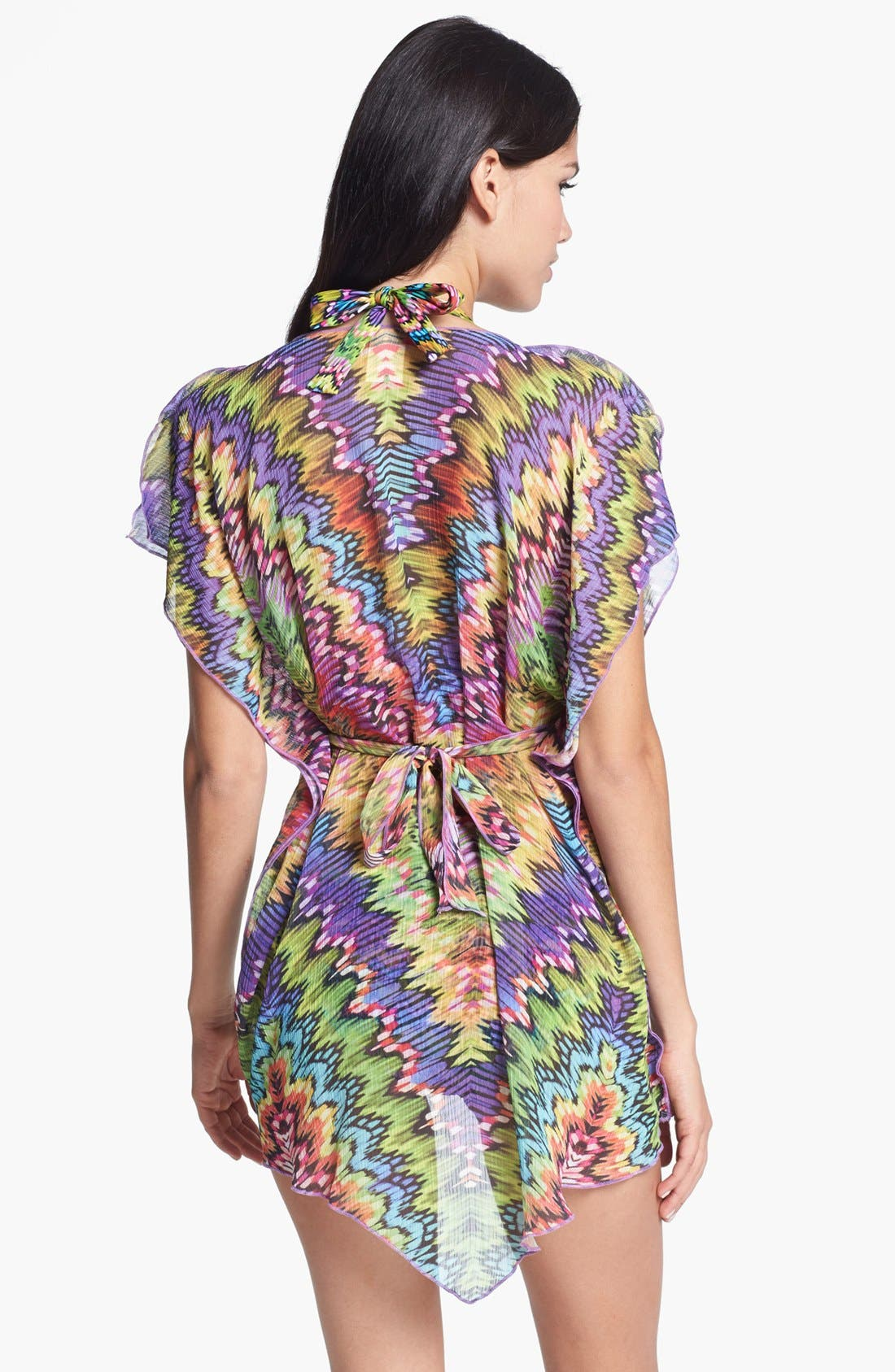 Alternate Image 2  - Becca 'Versailles' Tunic Cover-Up
