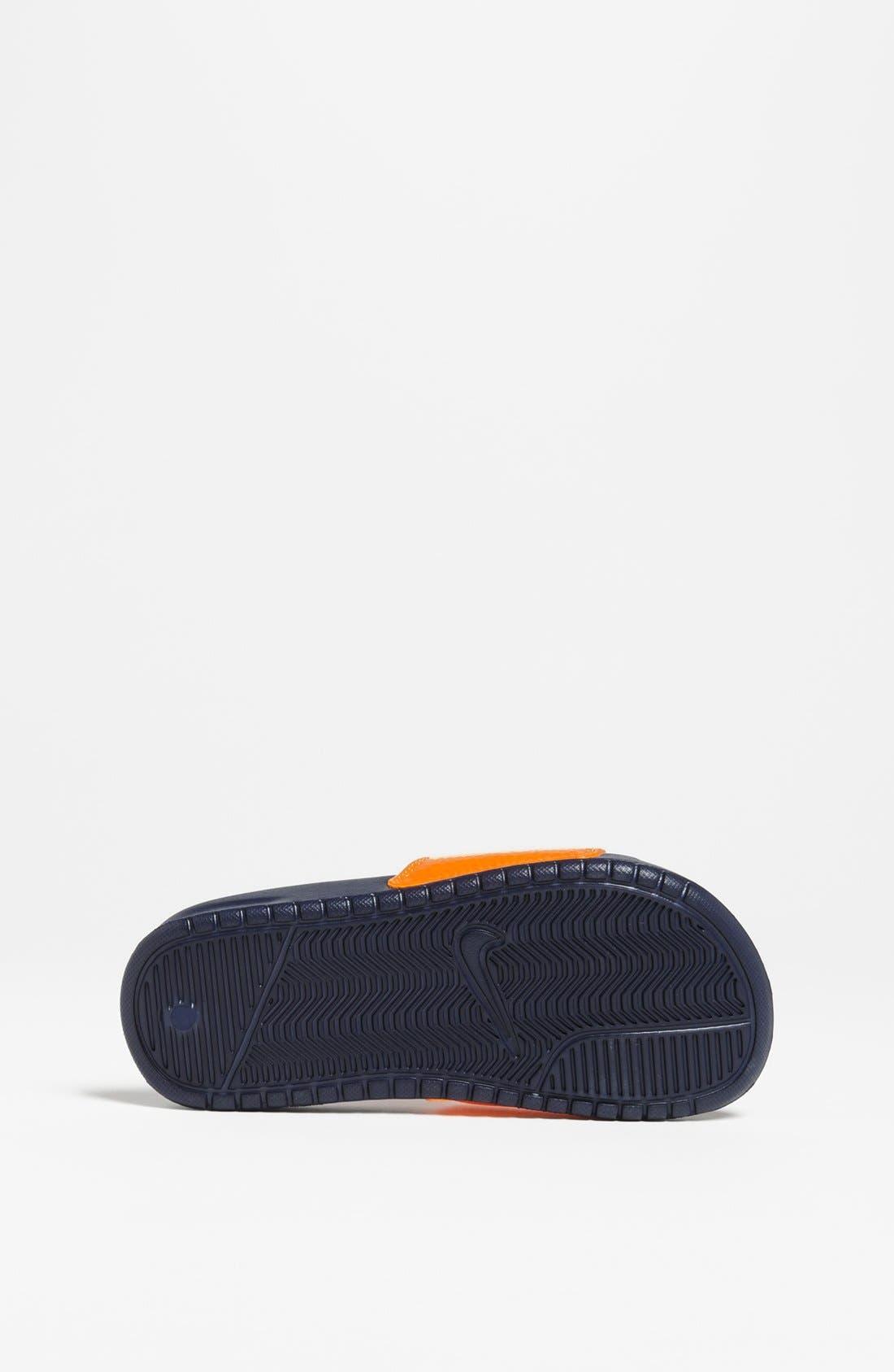 Alternate Image 4  - Nike 'Lebron James - Benassi' Sandal (Toddler, Little Kid & Big Kid)