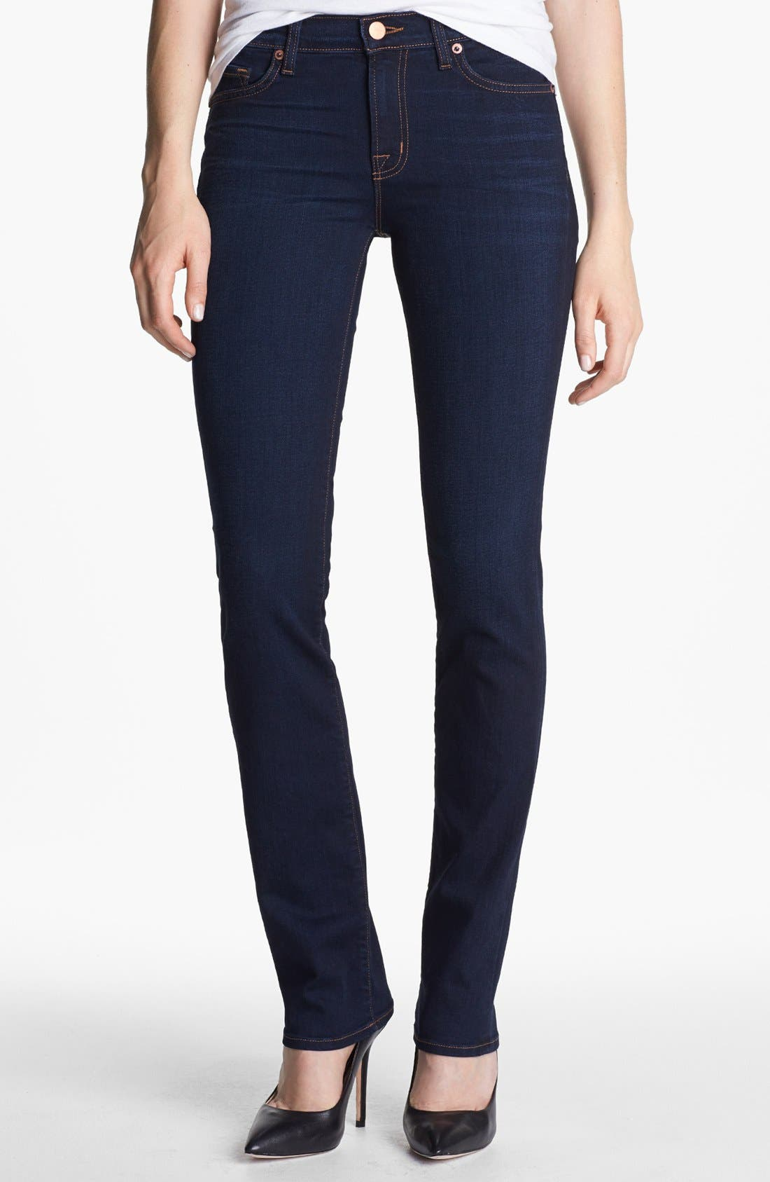 Alternate Image 1 Selected - J Brand '814' Mid-Rise Cigarette Leg Jeans (Ignite)